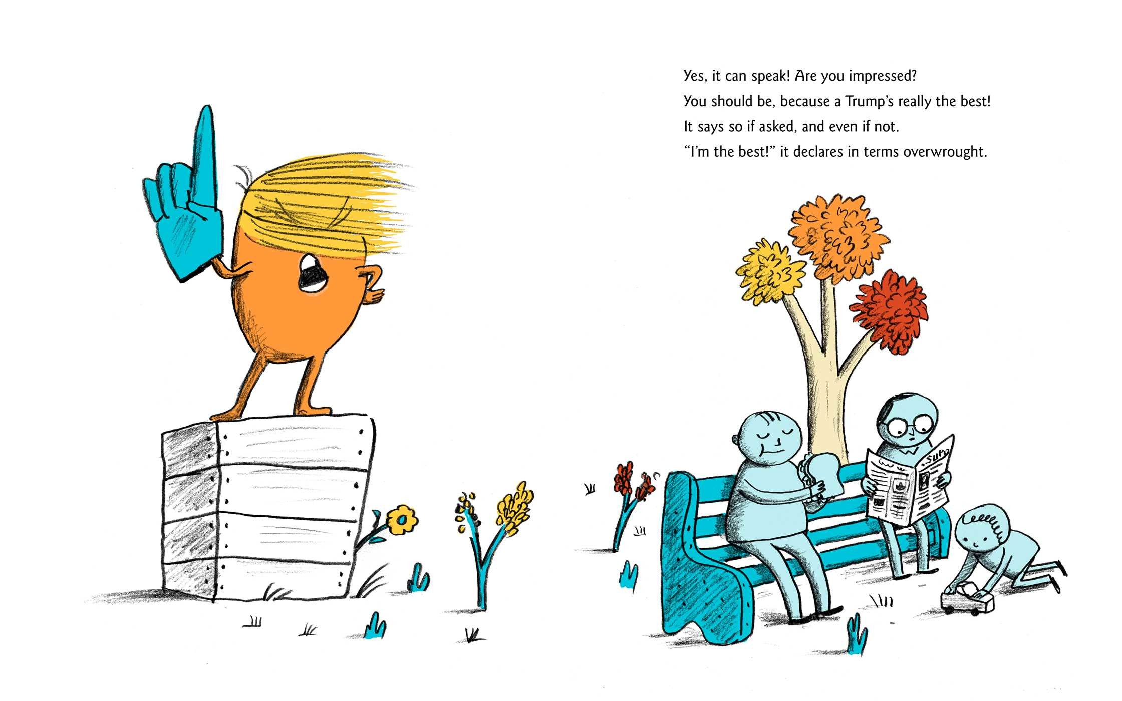 A Child's First Book of Trump | Book by Michael Ian Black, Marc ...