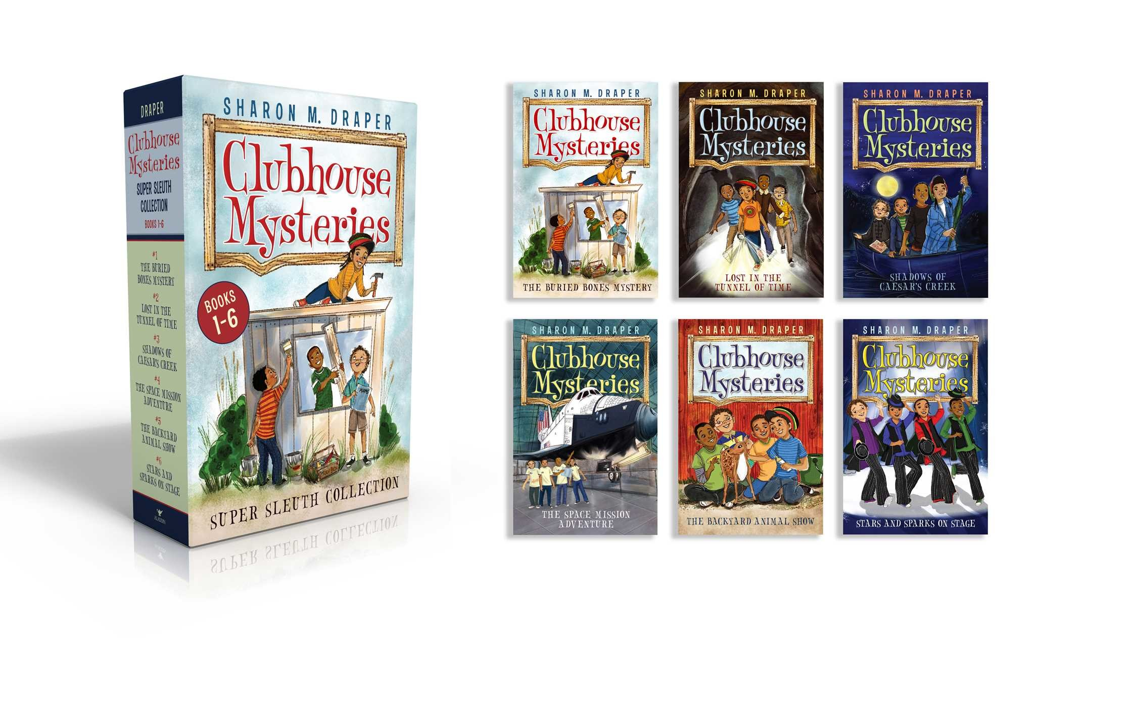 Clubhouse mysteries super sleuth collection 9781481496957.in01