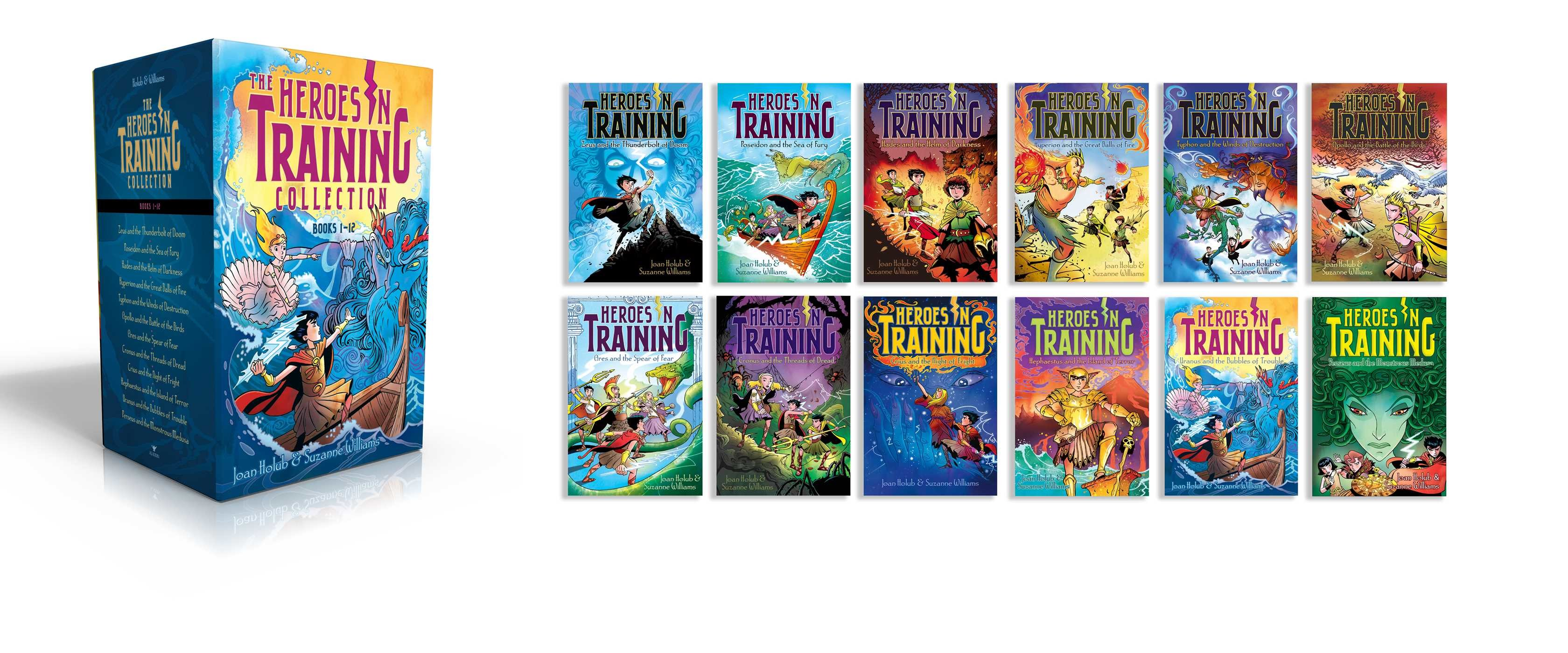 Heroes in training olympian collection books 1 12 9781481496988.in01