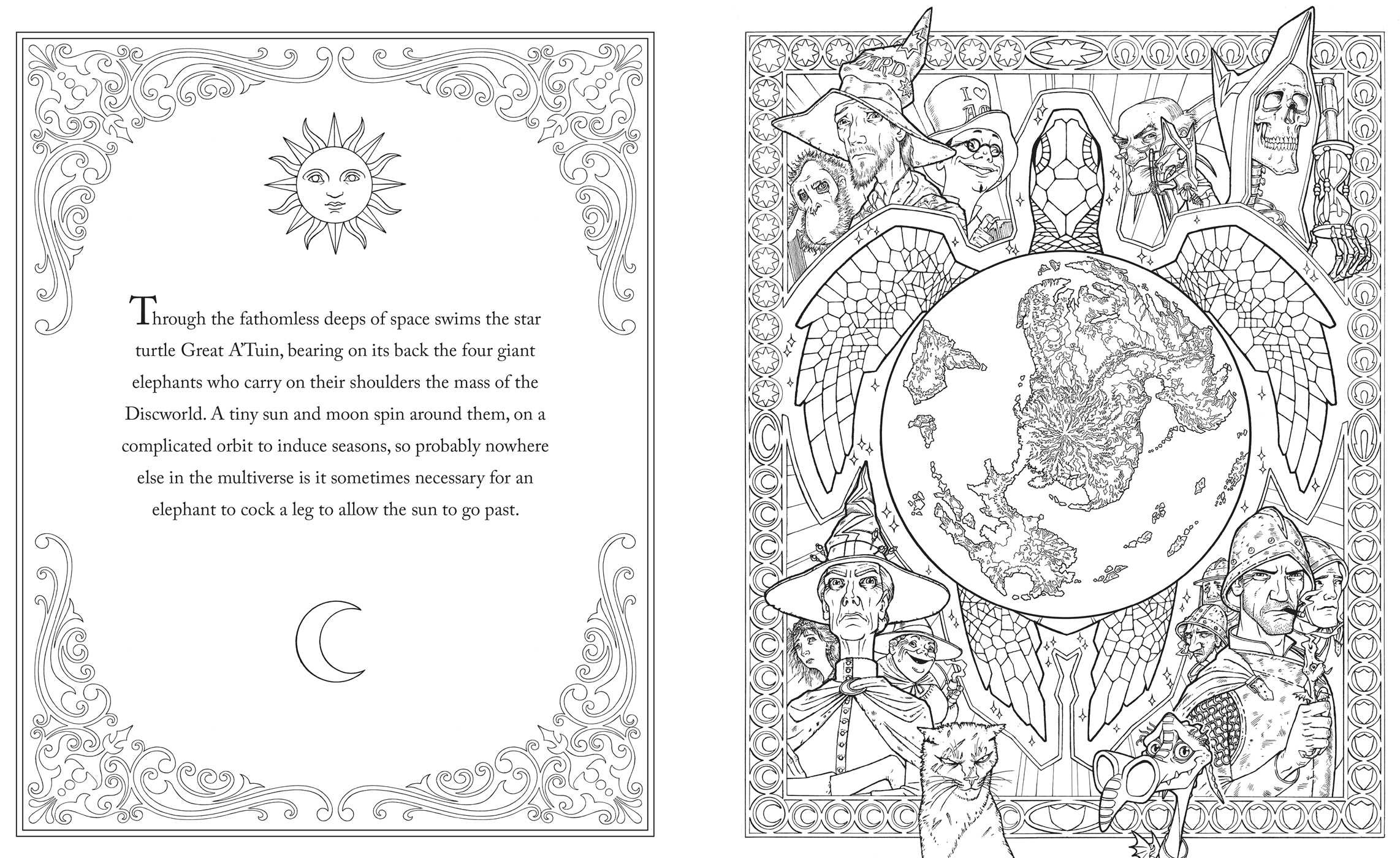 Terry pratchetts discworld coloring book 9781481498463.in01