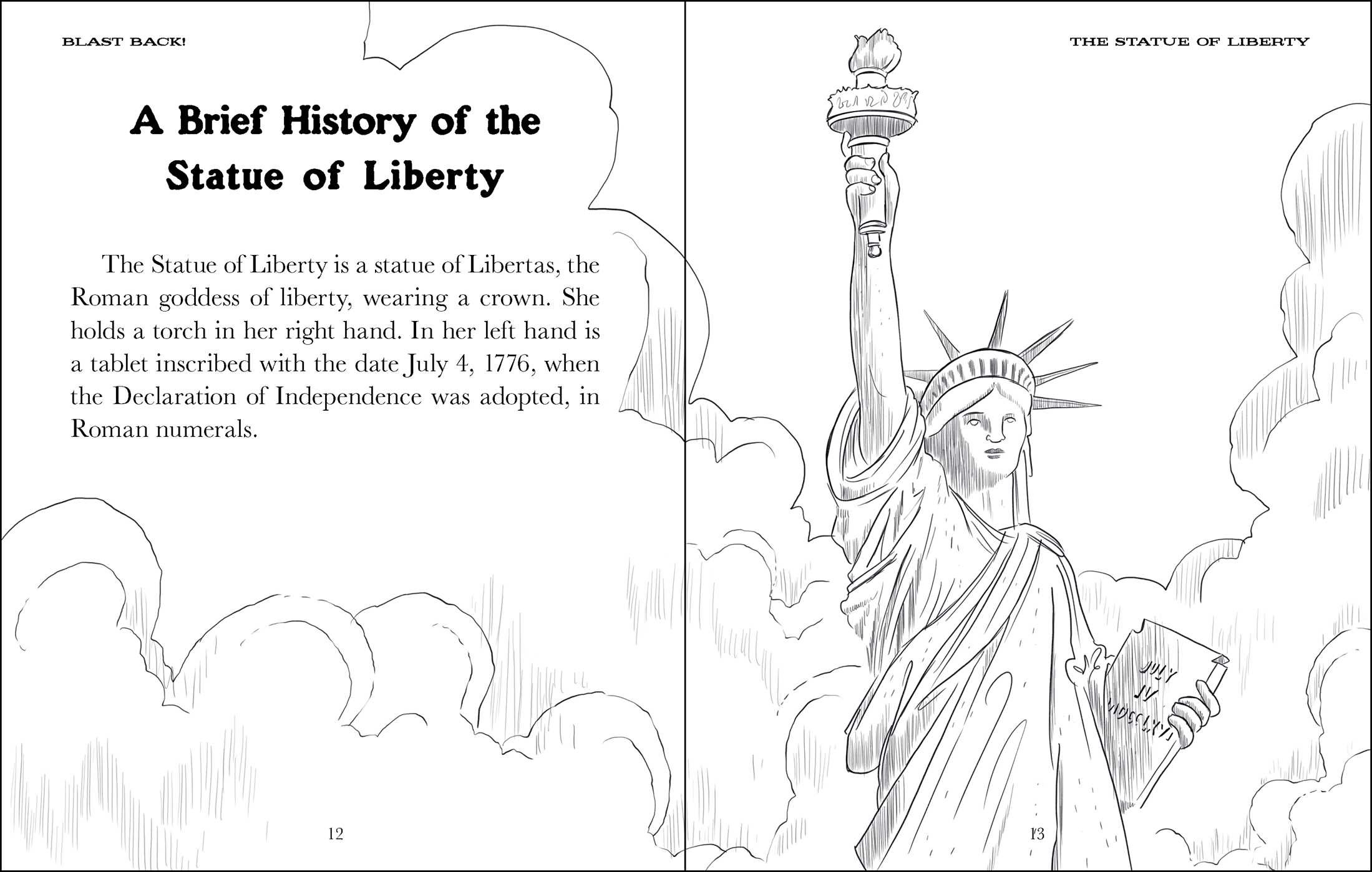 The statue of liberty 9781499804560.in02