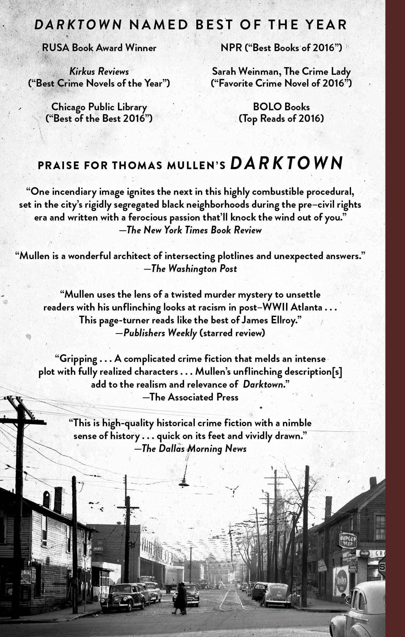 Darktown ebook by thomas mullen official publisher page simon darktown 9781501133886 hr darktown 978150113387901 fandeluxe Gallery