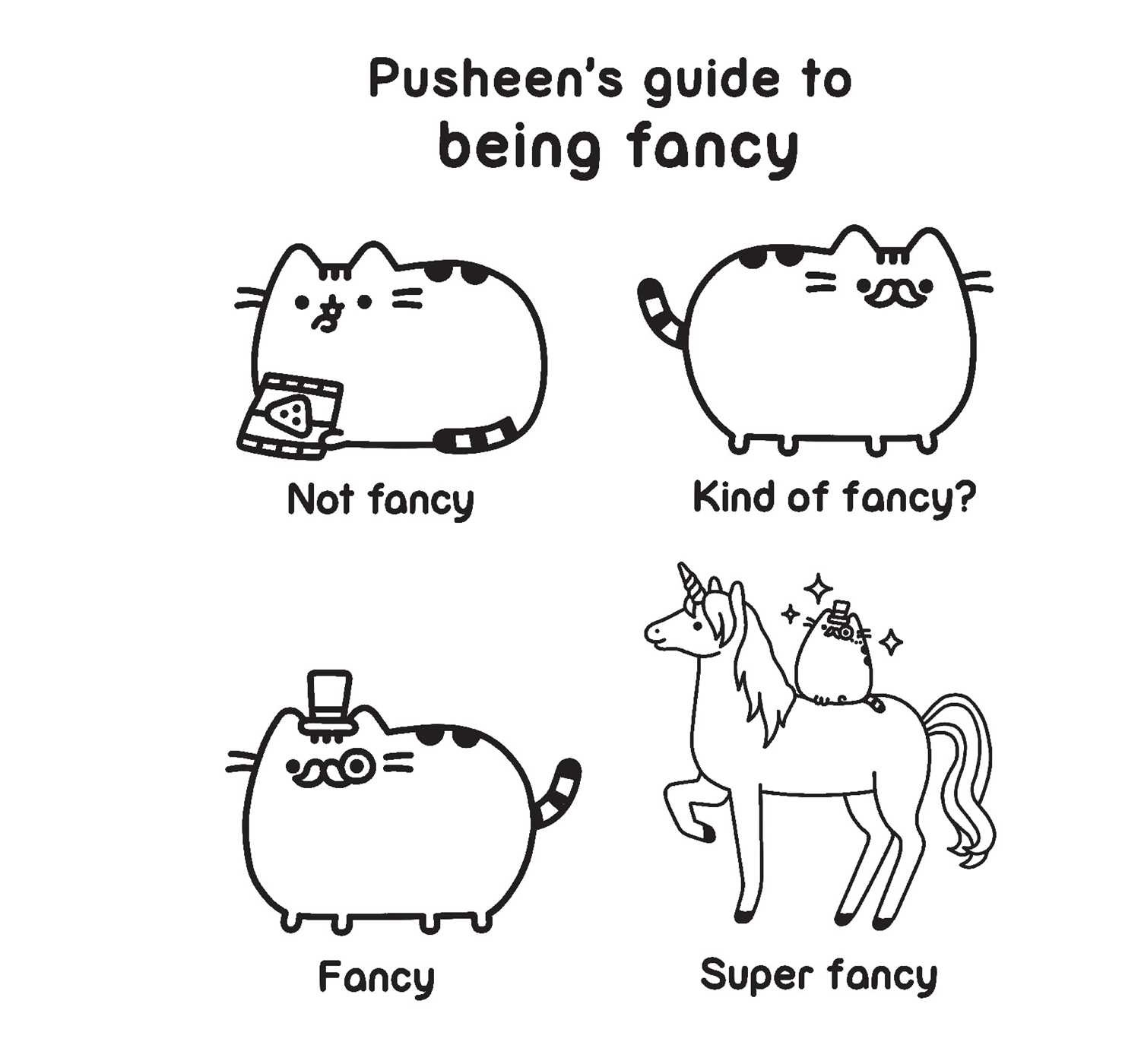 Pusheen Coloring Book Book by