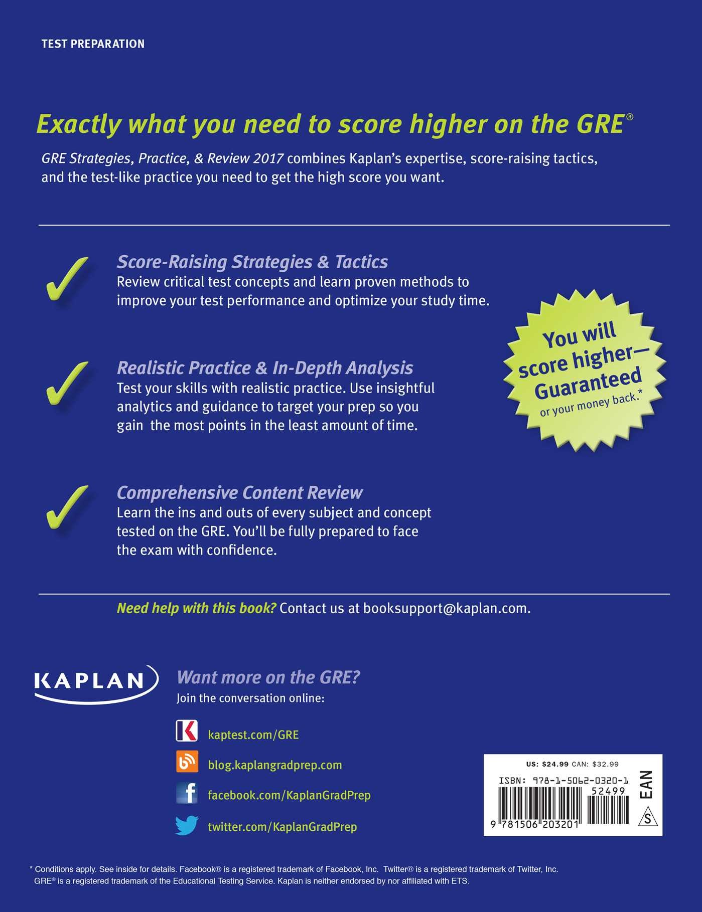 kaplan sat prep review book