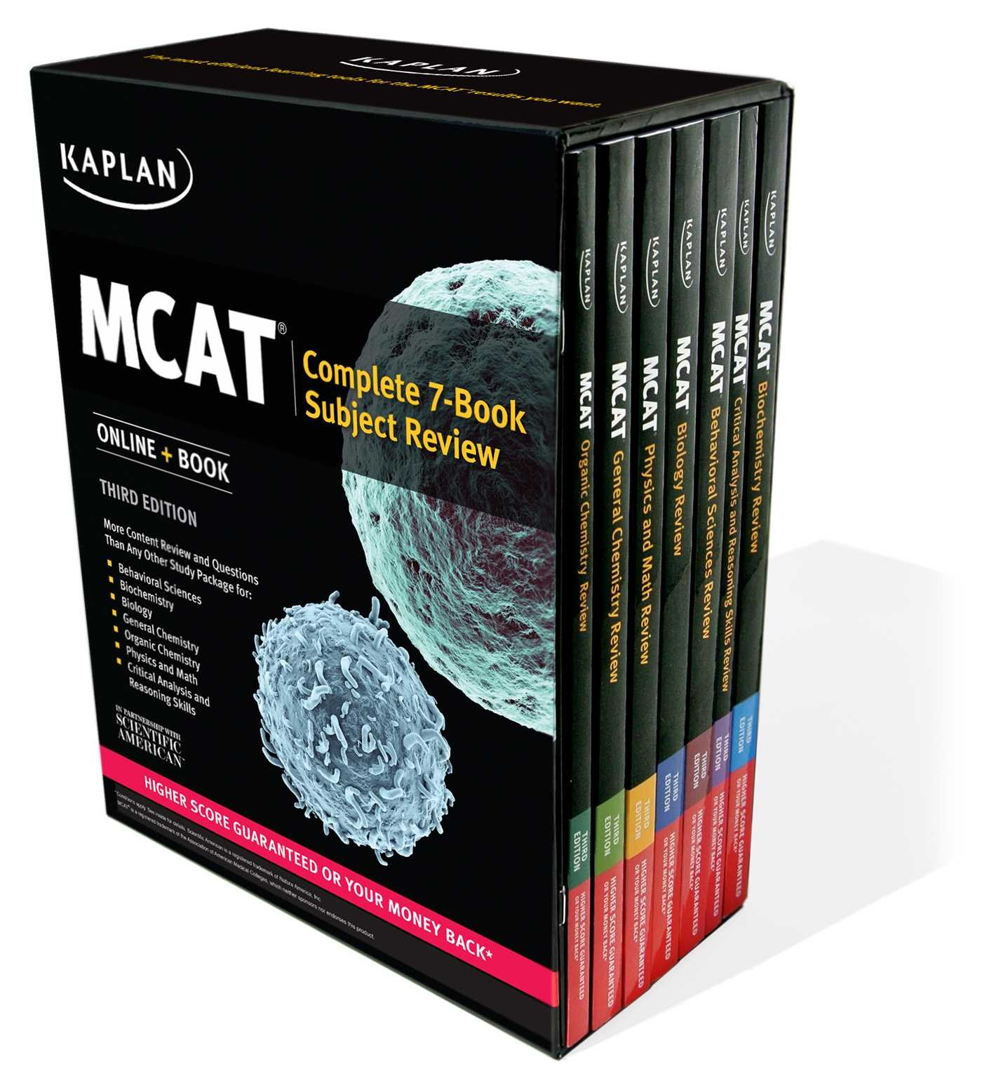 How much do MCAT prep books cost?
