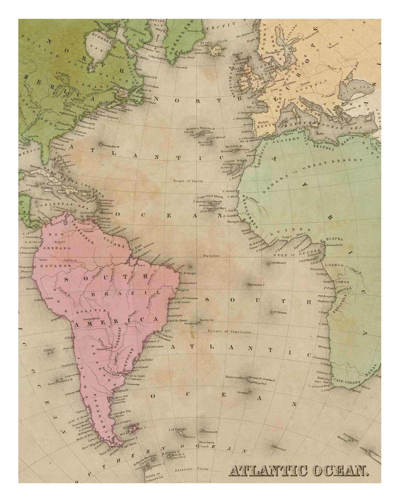 Instant wall art vintage map prints 9781507205891.in03