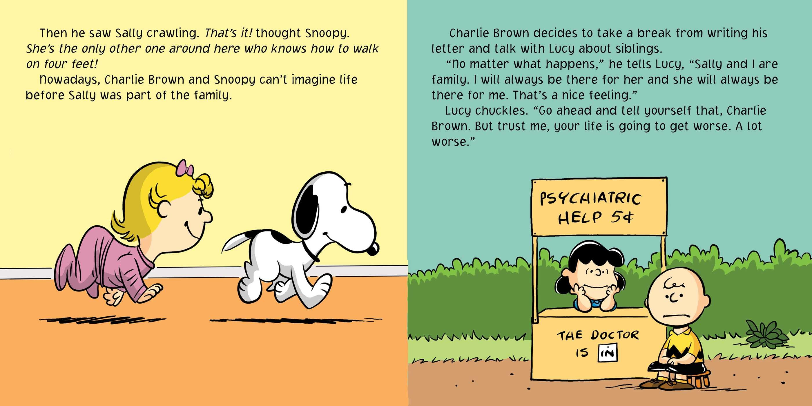 You're a Big Brother, Charlie Brown! | Book by Charles M ...