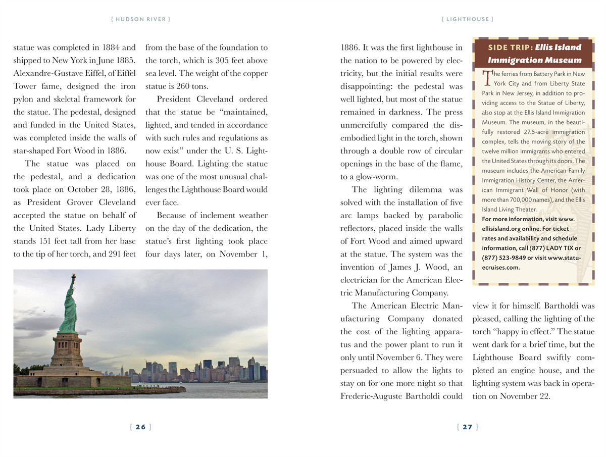 The lighthouse handbook the hudson river 9781604330403.in02