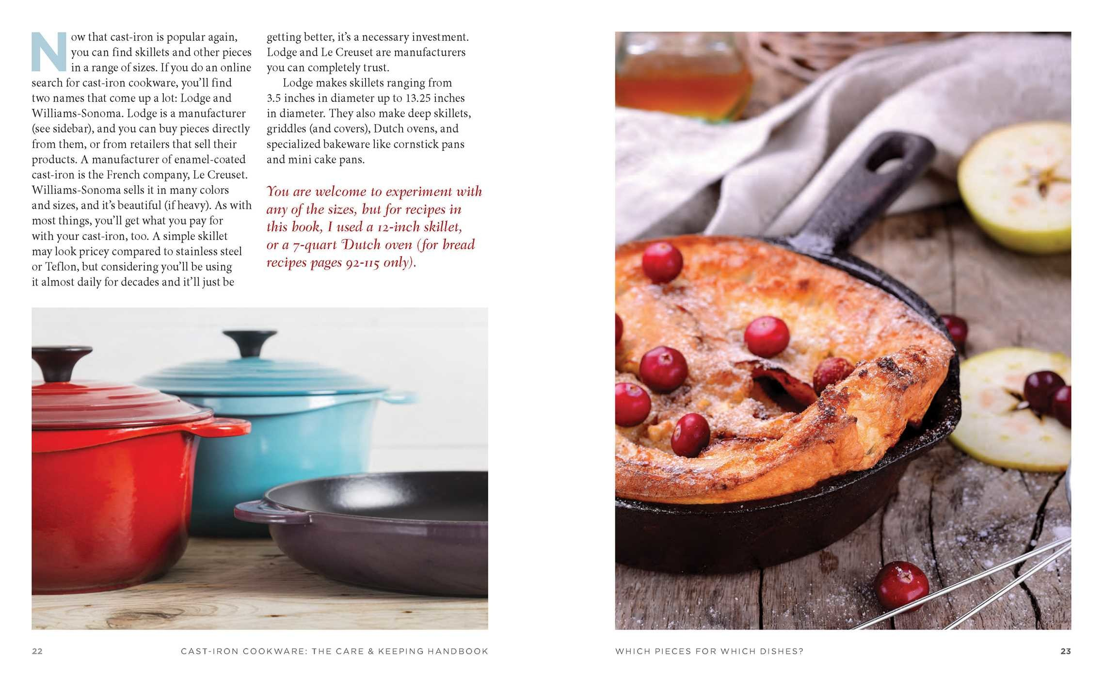 The cast iron cookware the care and keeping handbook 9781604337327.in02