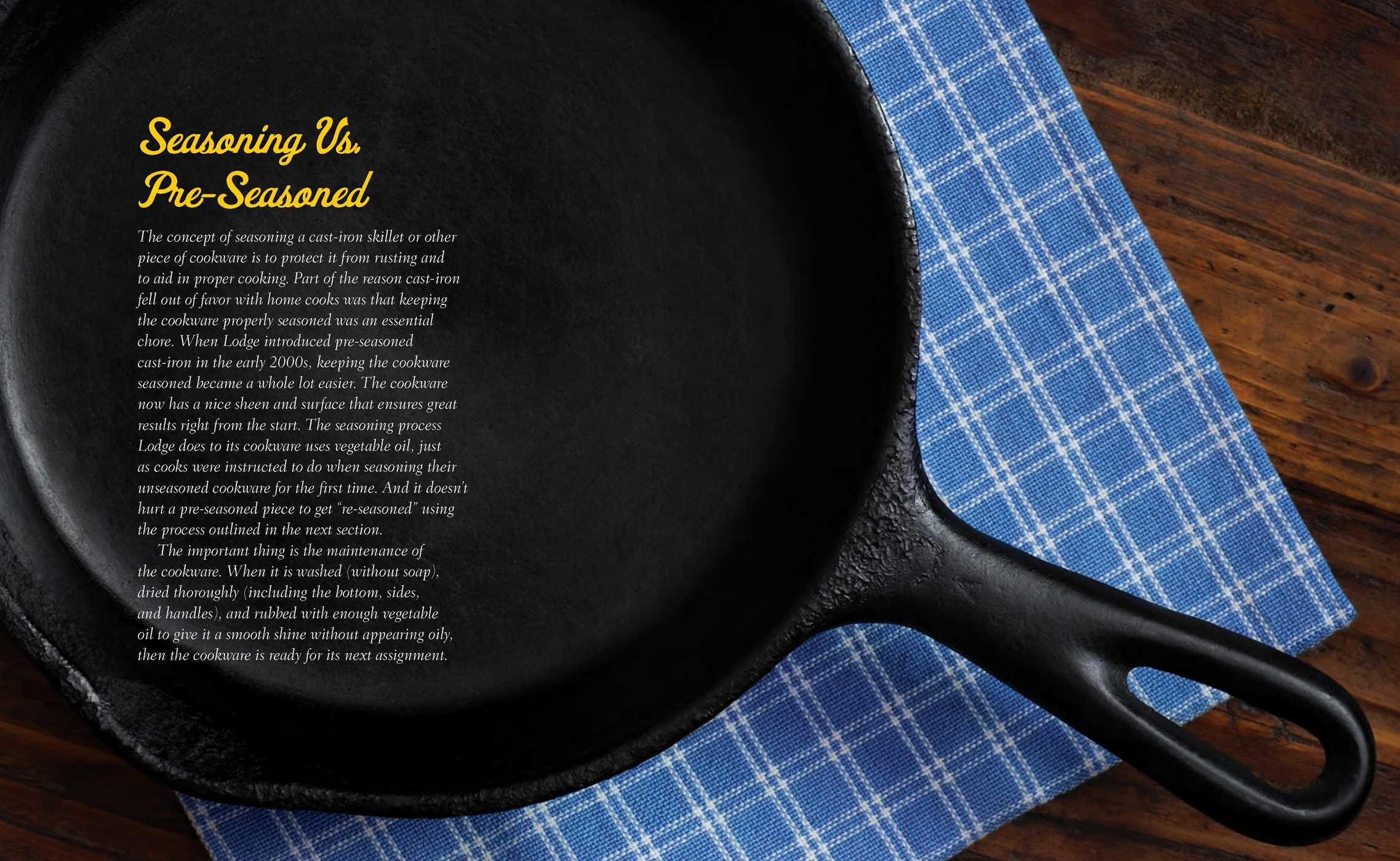 The cast iron cookware the care and keeping handbook 9781604337327.in03