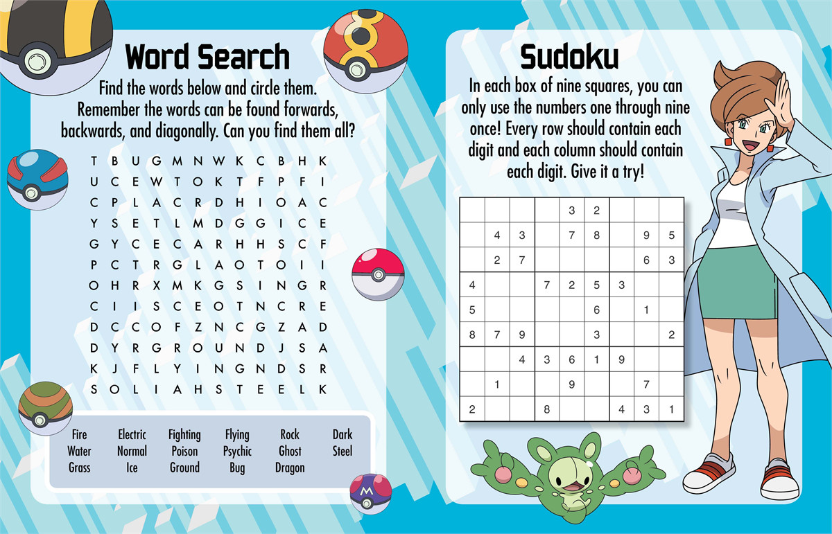 Pok 233 mon super activity book do you know unova book by pikachu
