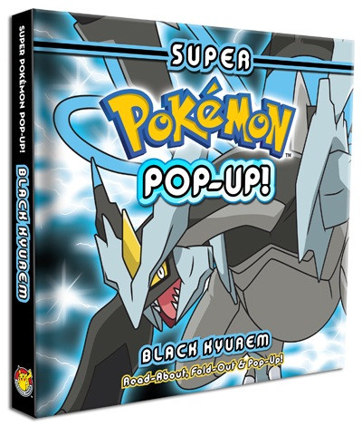 Super pokemon pop up black kyurem 9781604381795.in01