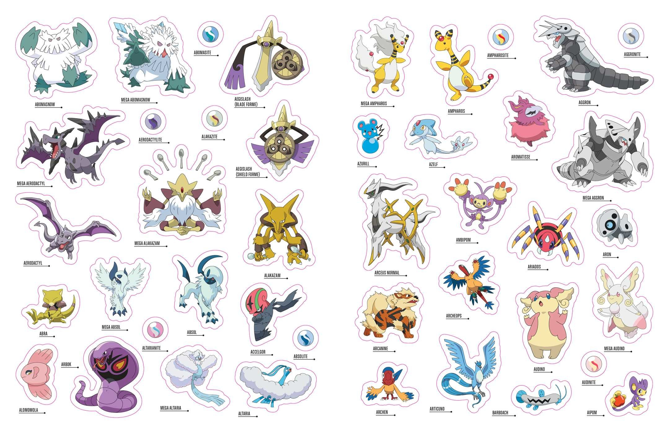 Pokemon kanto coloring pages -  Pokemon Trainers Sticker Book From Kanto To 9781604381863 In01