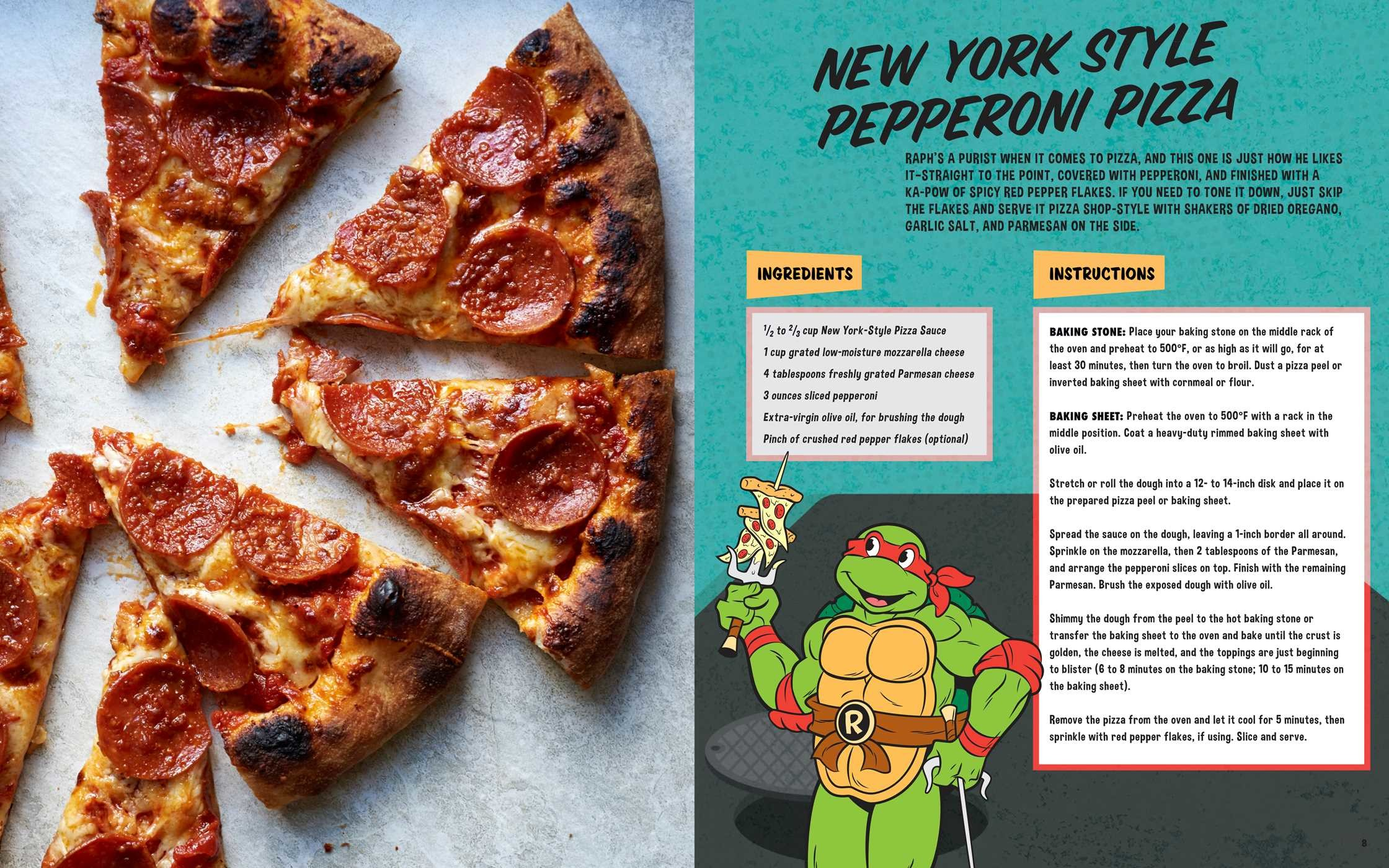 Teenage mutant ninja turtles the official pizza cookbook 9781608878314.in02