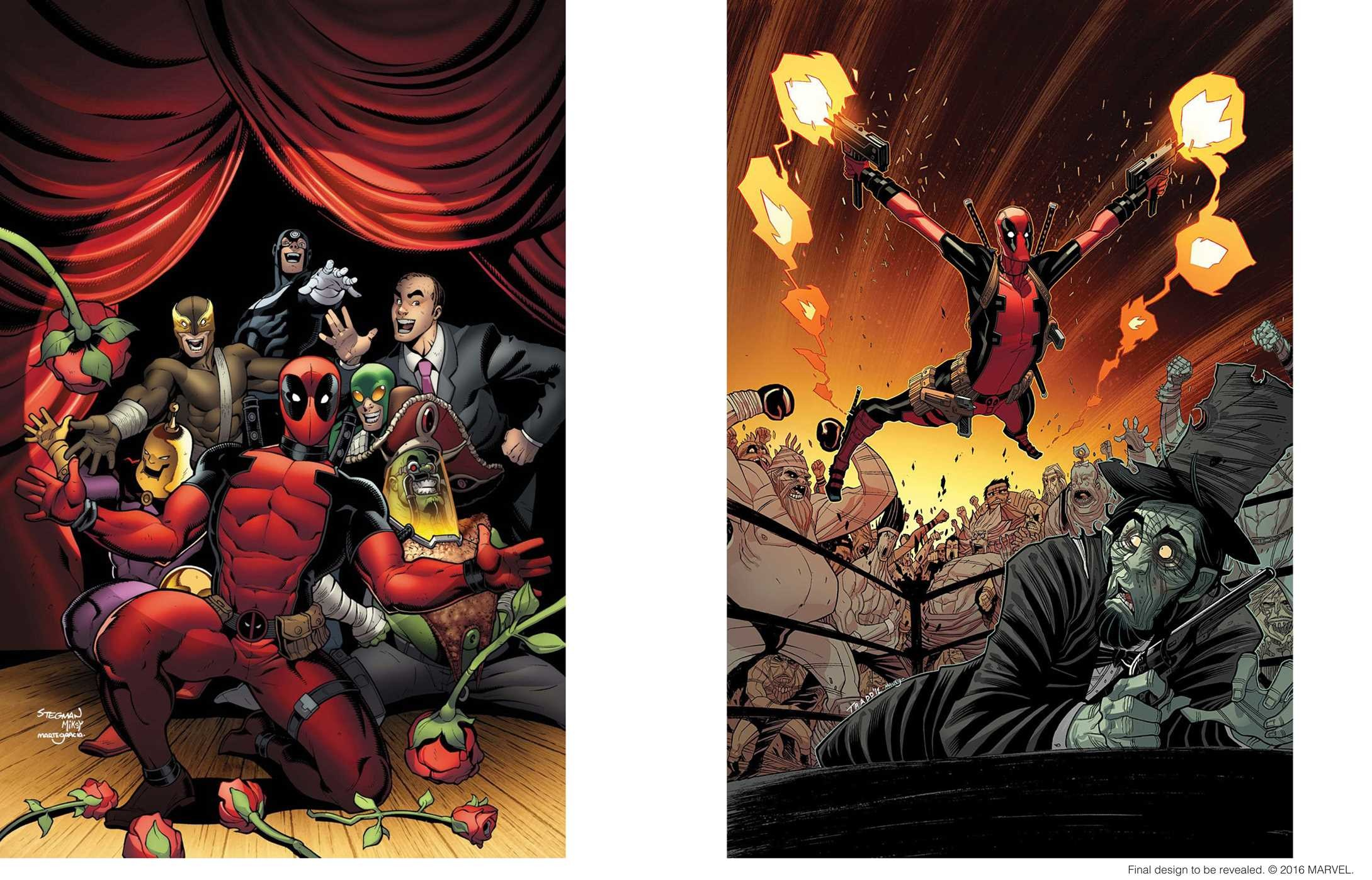 De deadpool drawing pages -  The Art Of Deadpool 9781608879182 In02