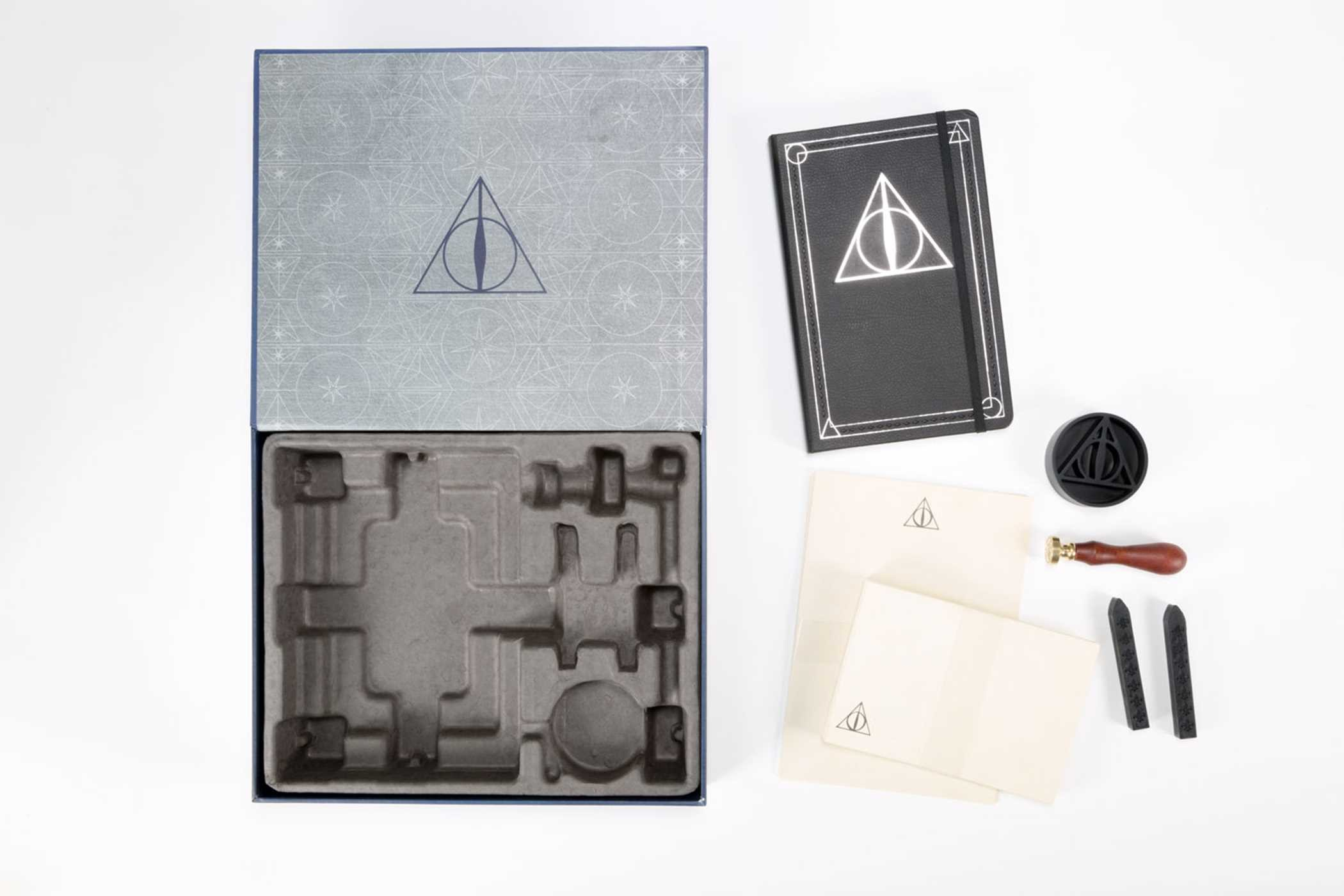 Harry potter the deathly hallows deluxe stationery set book by harry potter the deathly hallows deluxe stationery set 978160887963202 biocorpaavc