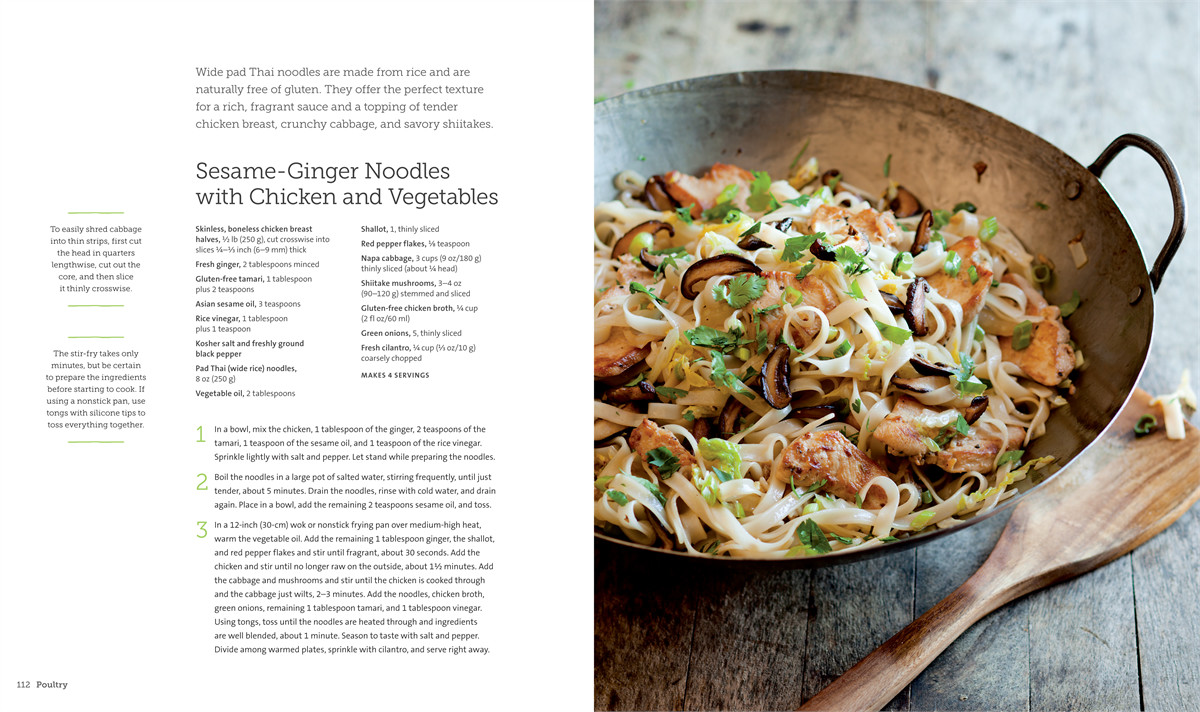 Weeknight gluten free (williams sonoma) 9781616285005.in01