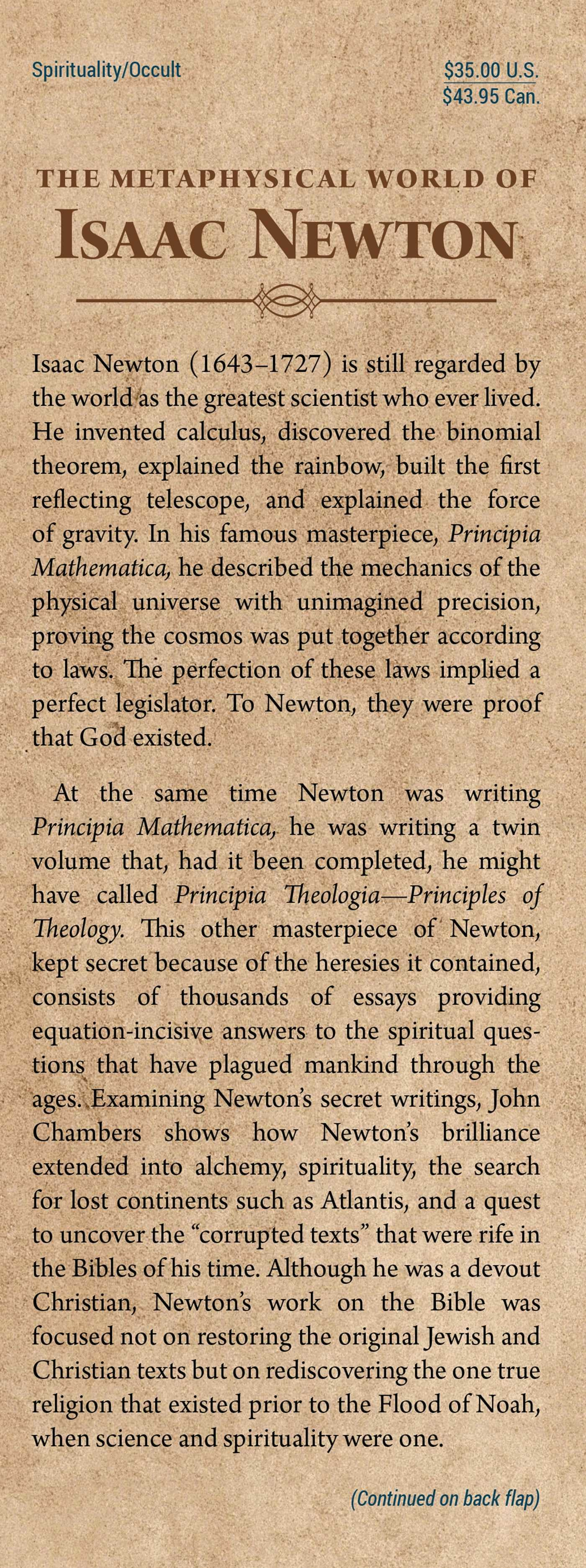 The metaphysical world of isaac newton 9781620552049.in01