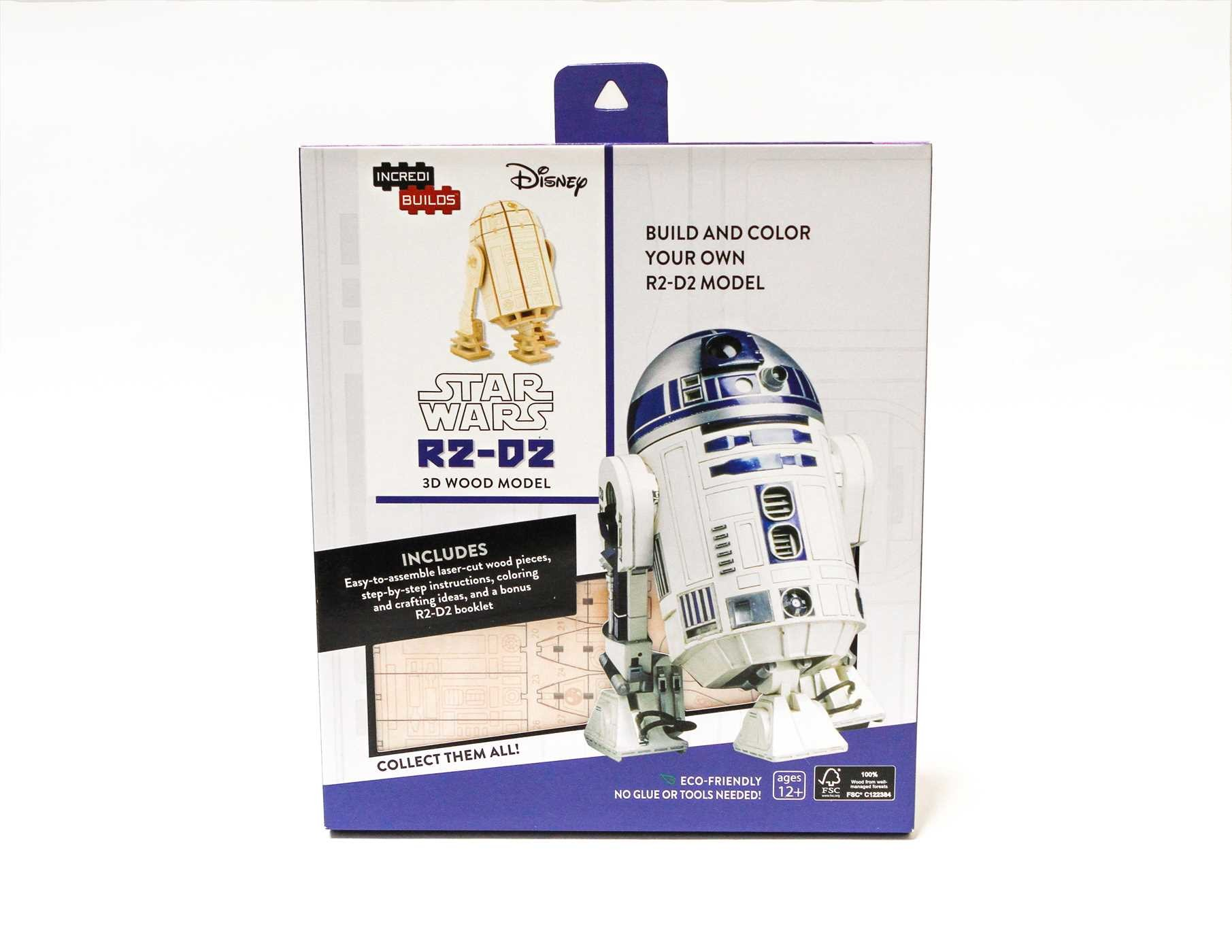 Incredibuilds star wars r2 d2 3d wood model 9781682980279.in02