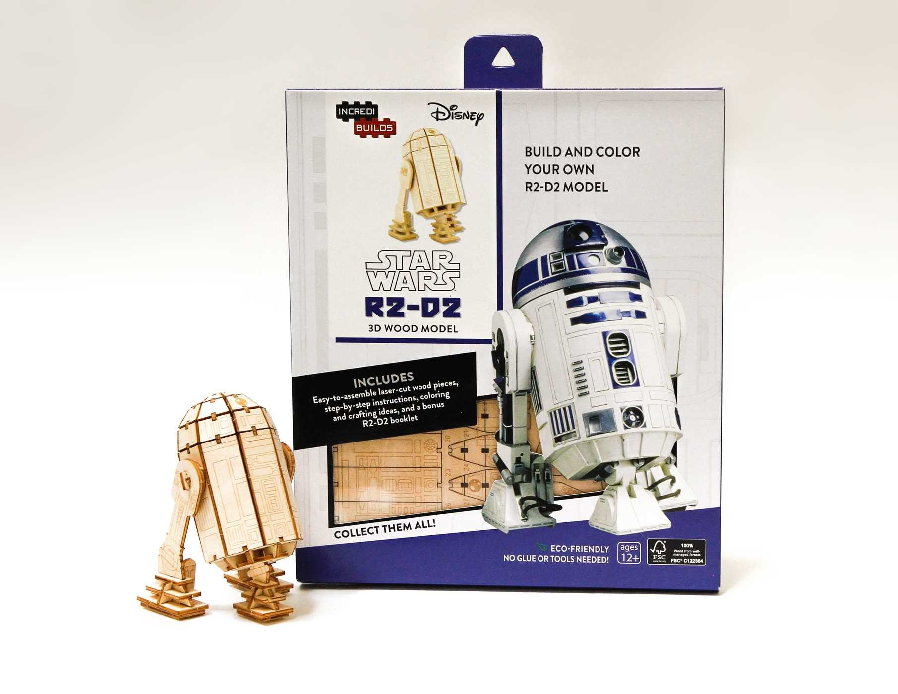 Incredibuilds star wars r2 d2 3d wood model 9781682980279.in03