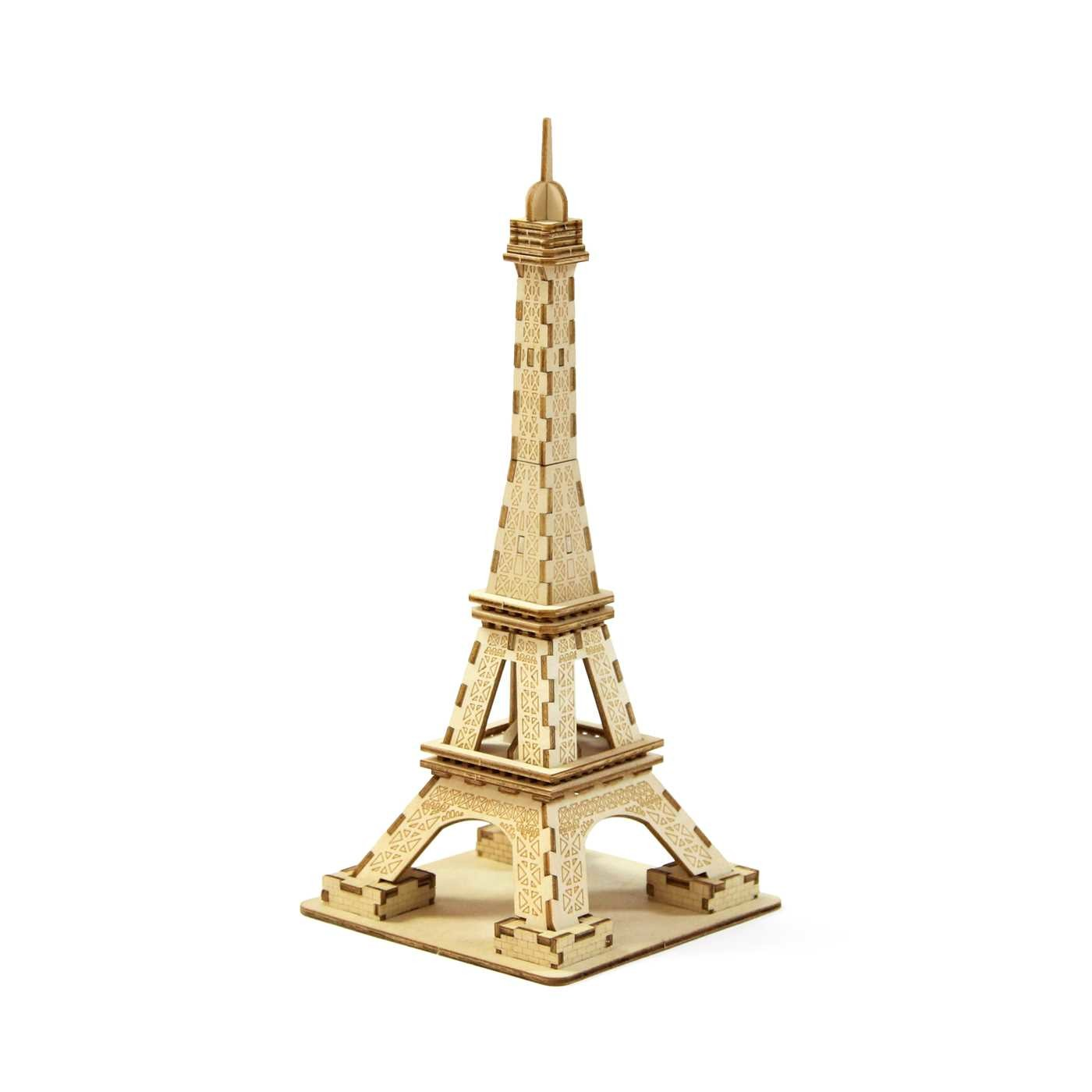 model of eiffel tower instructions