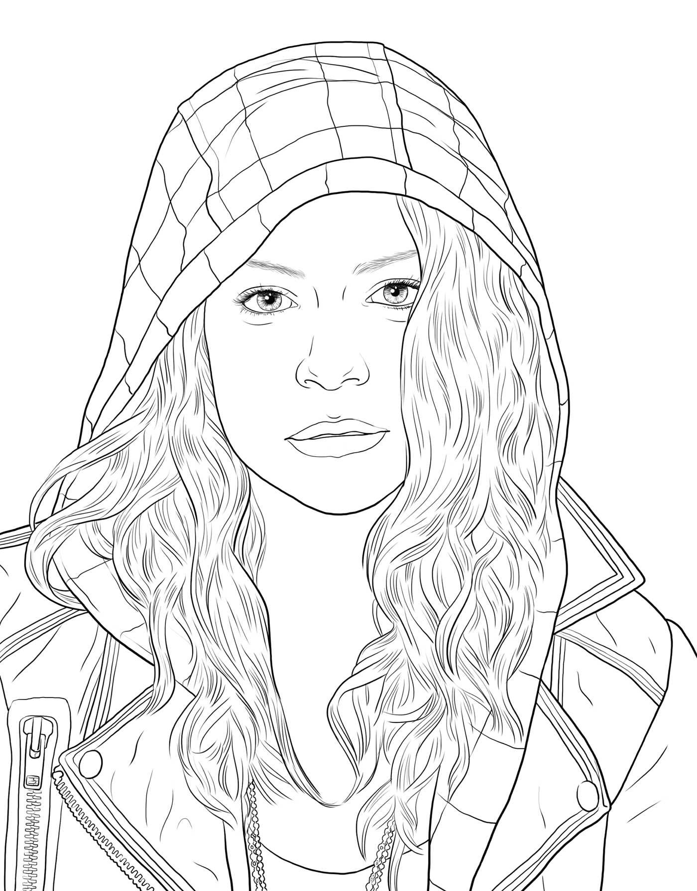 orphan black the official coloring book book by insight