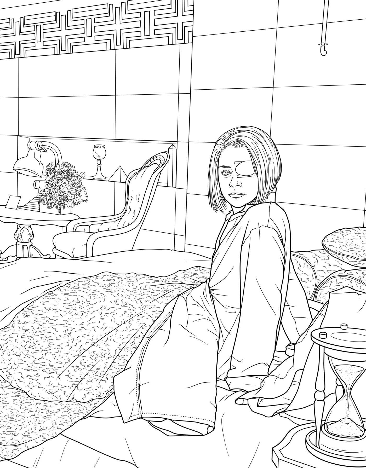 Orphan Black The ficial Coloring Book