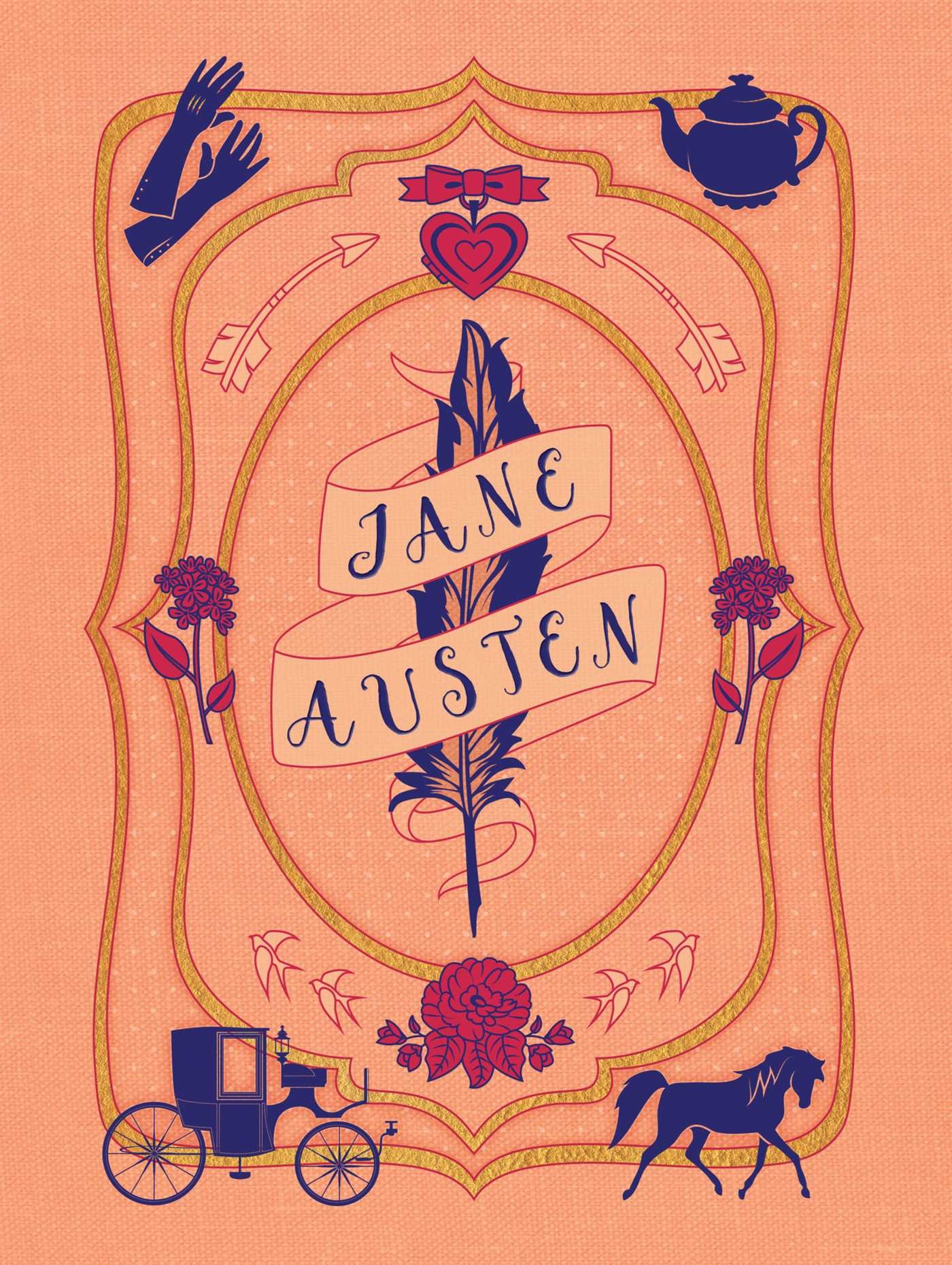 Literary stationery sets jane austen 9781683831037.in01