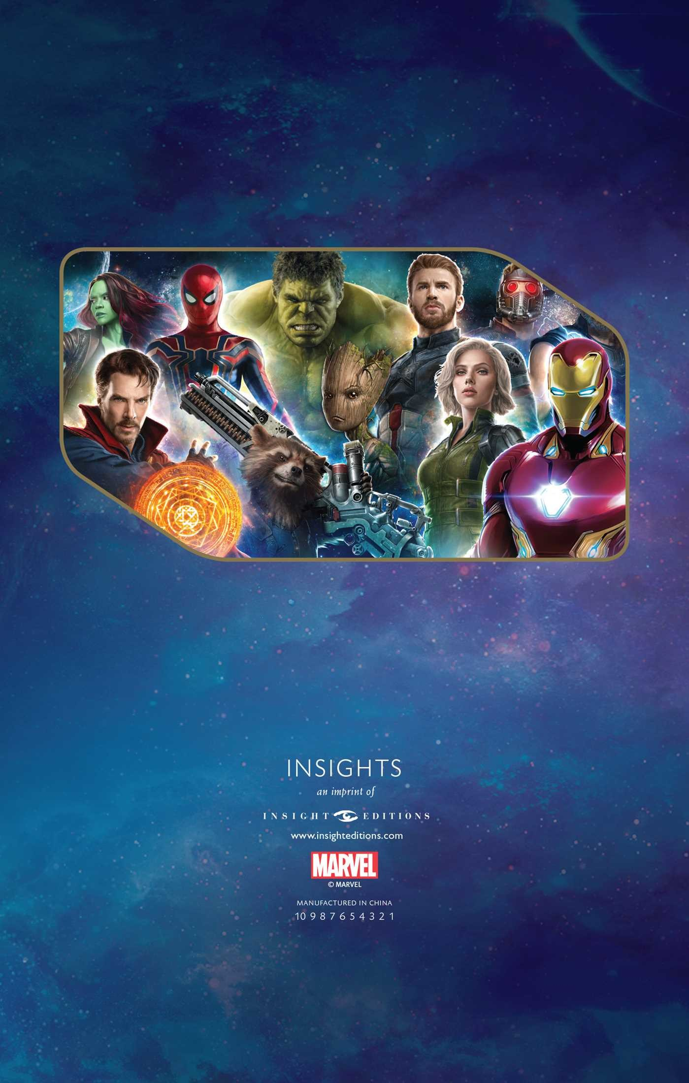 marvel's avengers: infinity war hardcover ruled journal | book by