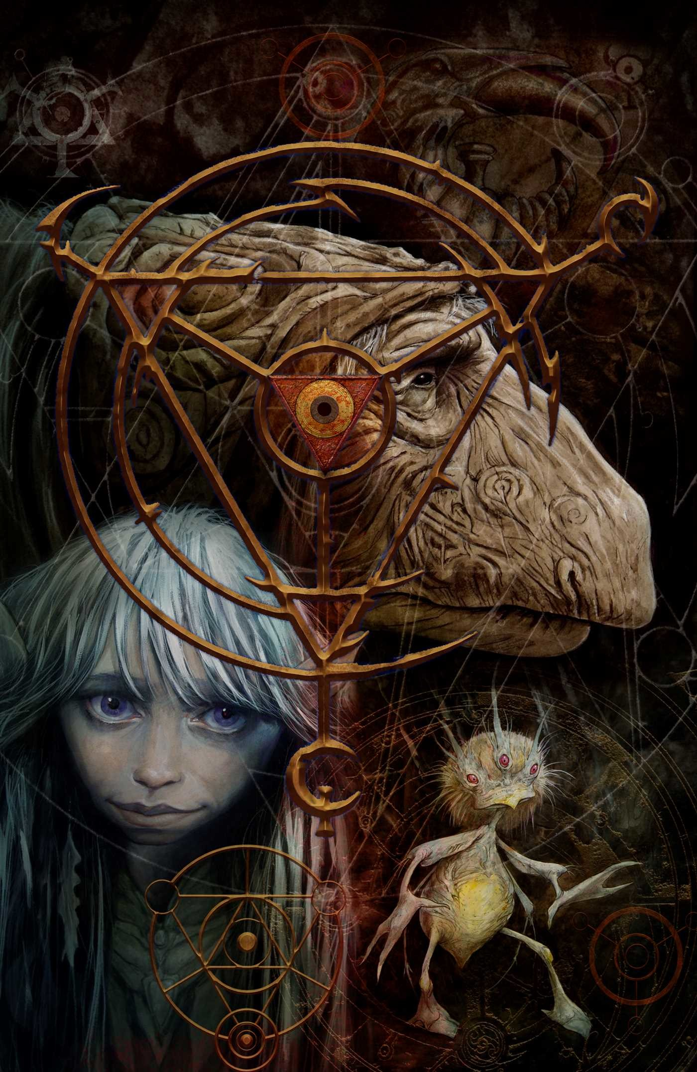 Jim hensons the dark crystal artist tribute 9781684151820.in01