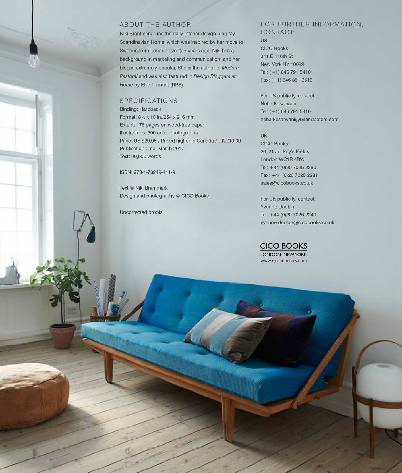 The Scandinavian Home | Book by Niki Brantmark | Official ...