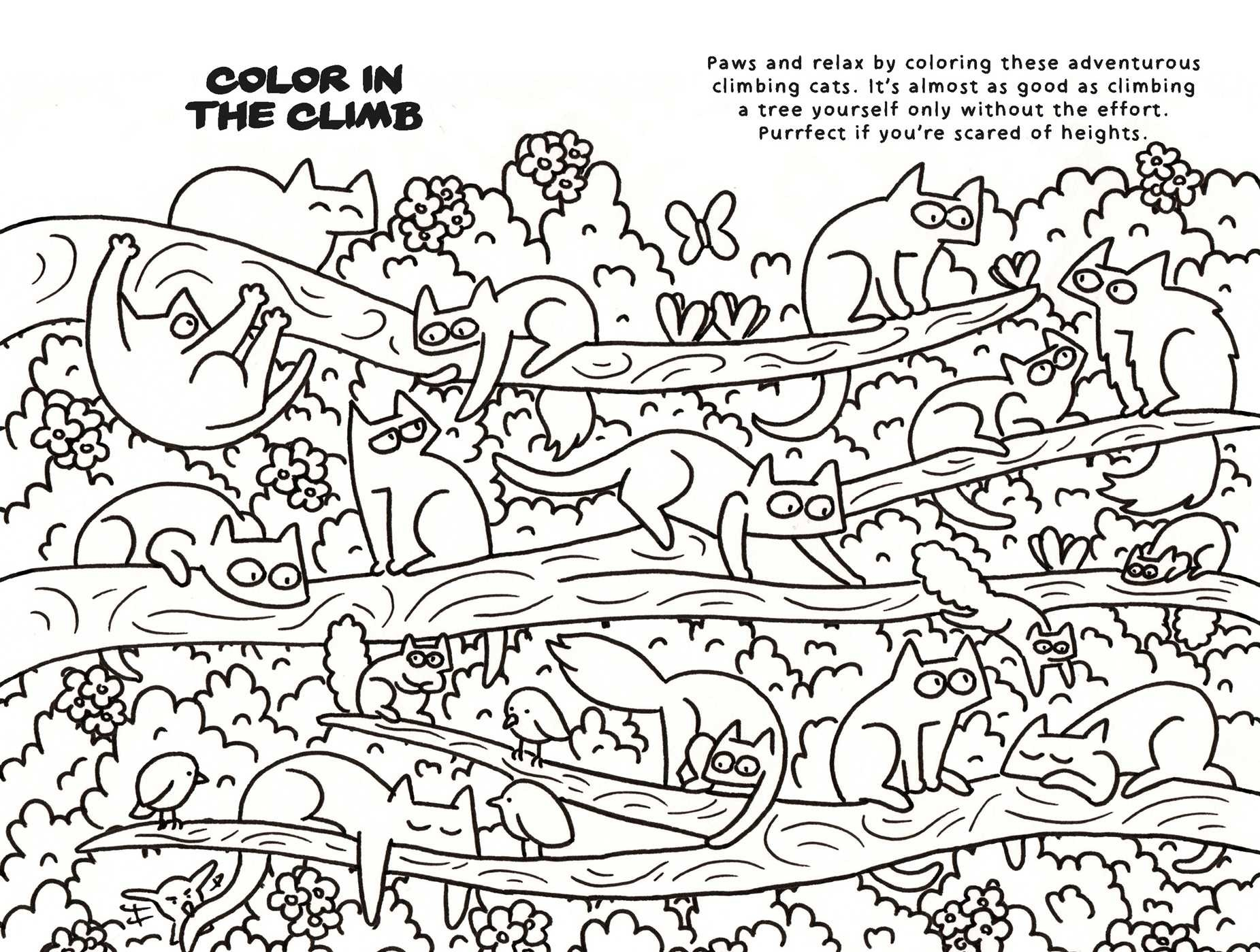Mindfulness And Coloring For Cats 9781911026150in03