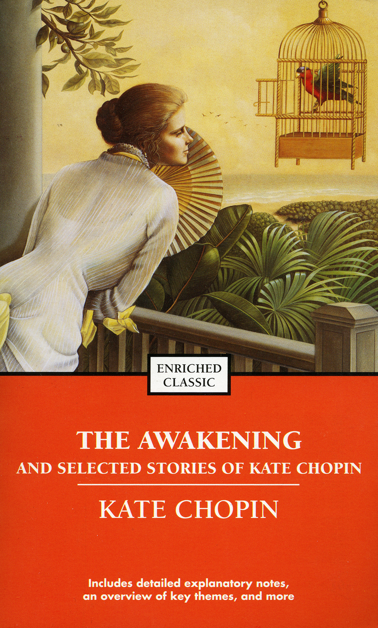 What literary device apart from symbolism is used in The Awakening by Kate Chopin?