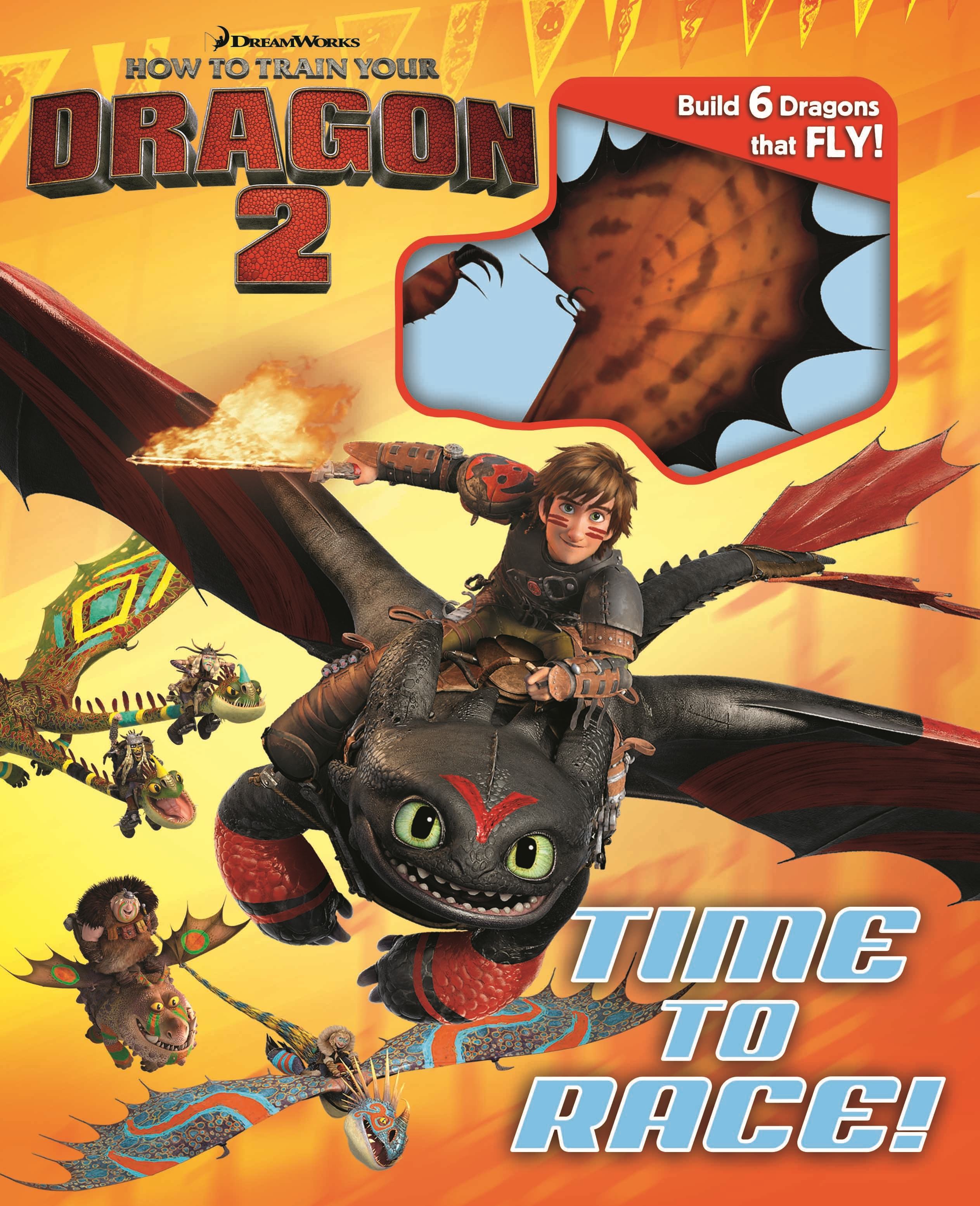 Dreamworks How to Train Your Dragon 2 Time to Race  Book by