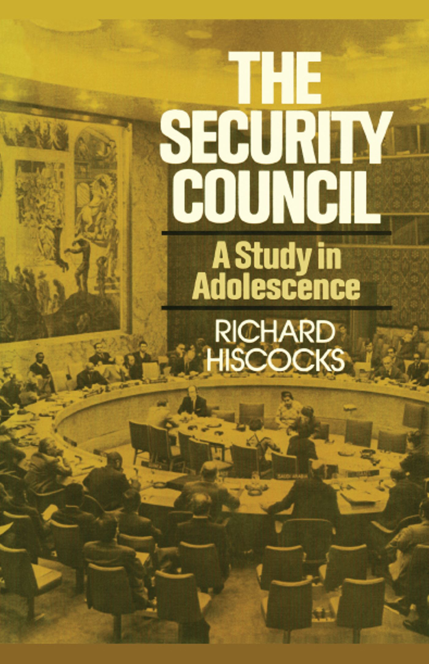 Security council (a study in adolescence) 9781416577737 hr
