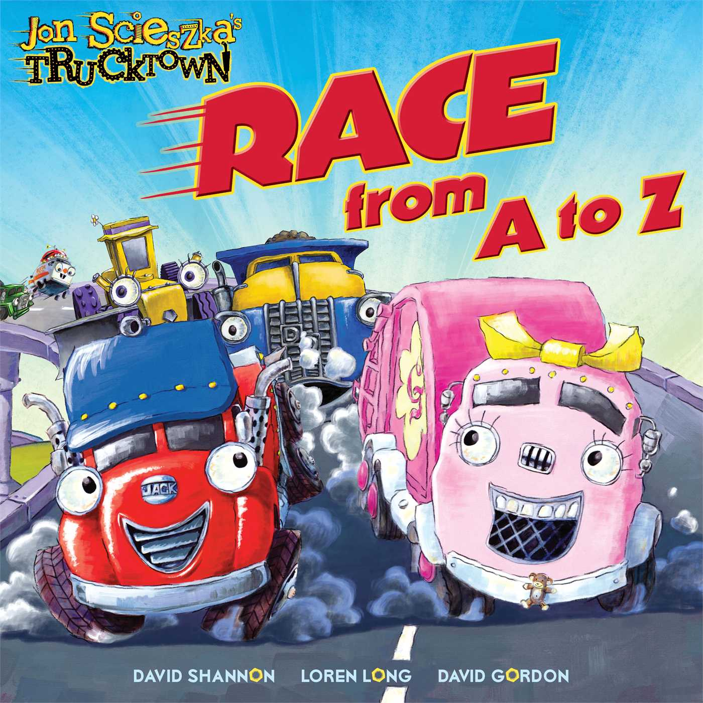 Race from a to z 9781416941361 hr