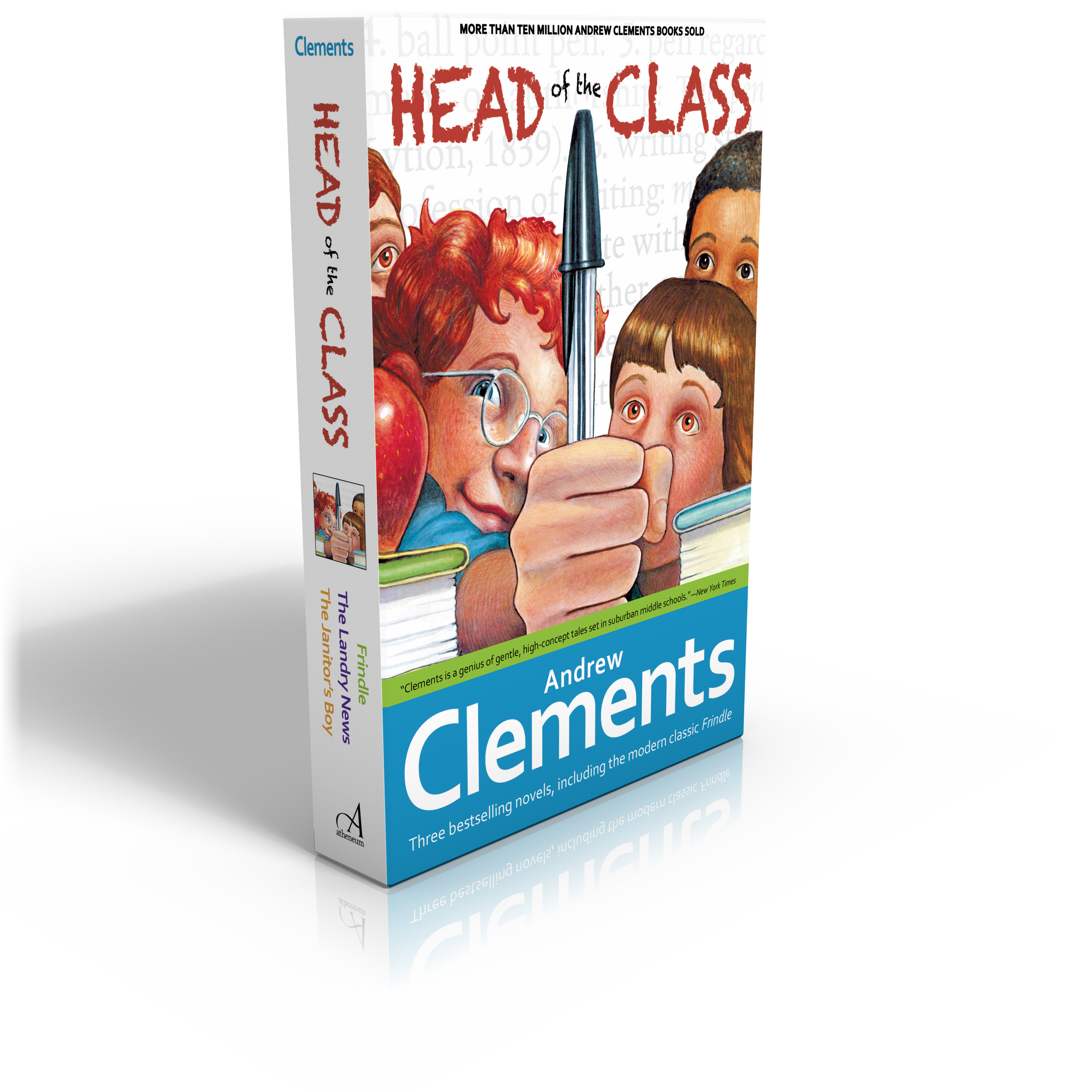 Book Cover Image (jpg): Head Of The Class