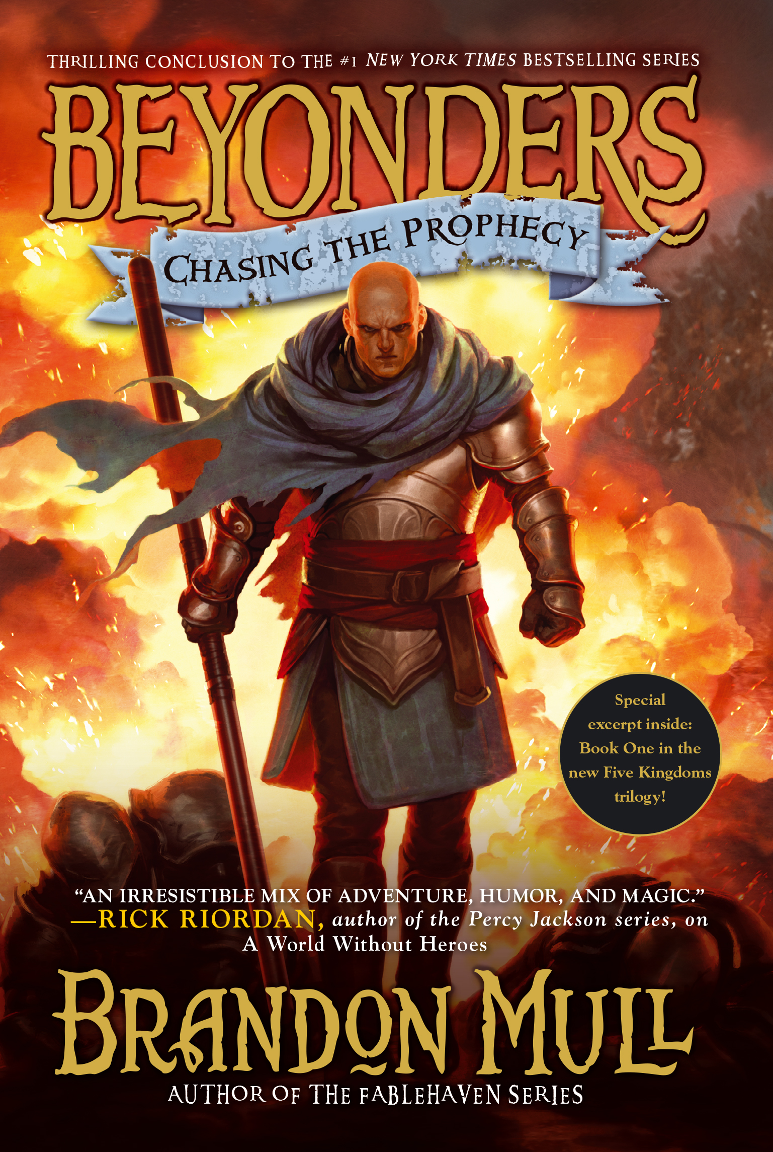 Chasing the prophecy 9781416997979 hr