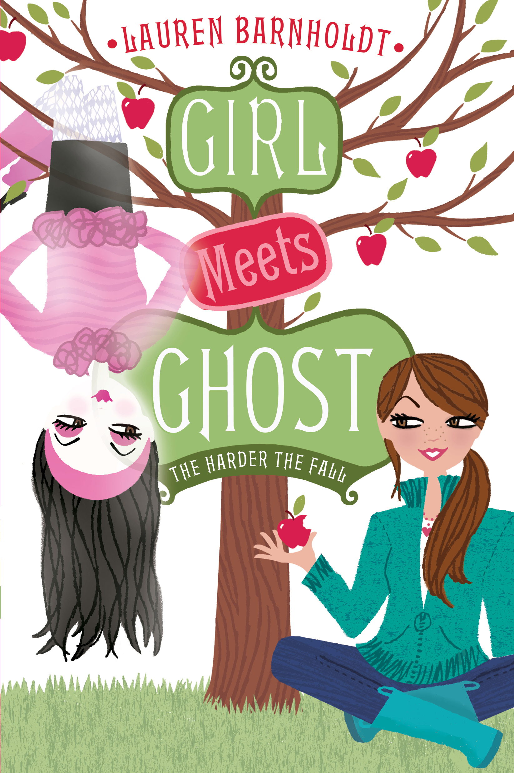lauren barnholdt girl meets ghost series Find great deals for girl meets ghost: the harder the fall 2 by lauren barnholdt (2014, paperback) shop with confidence on ebay.