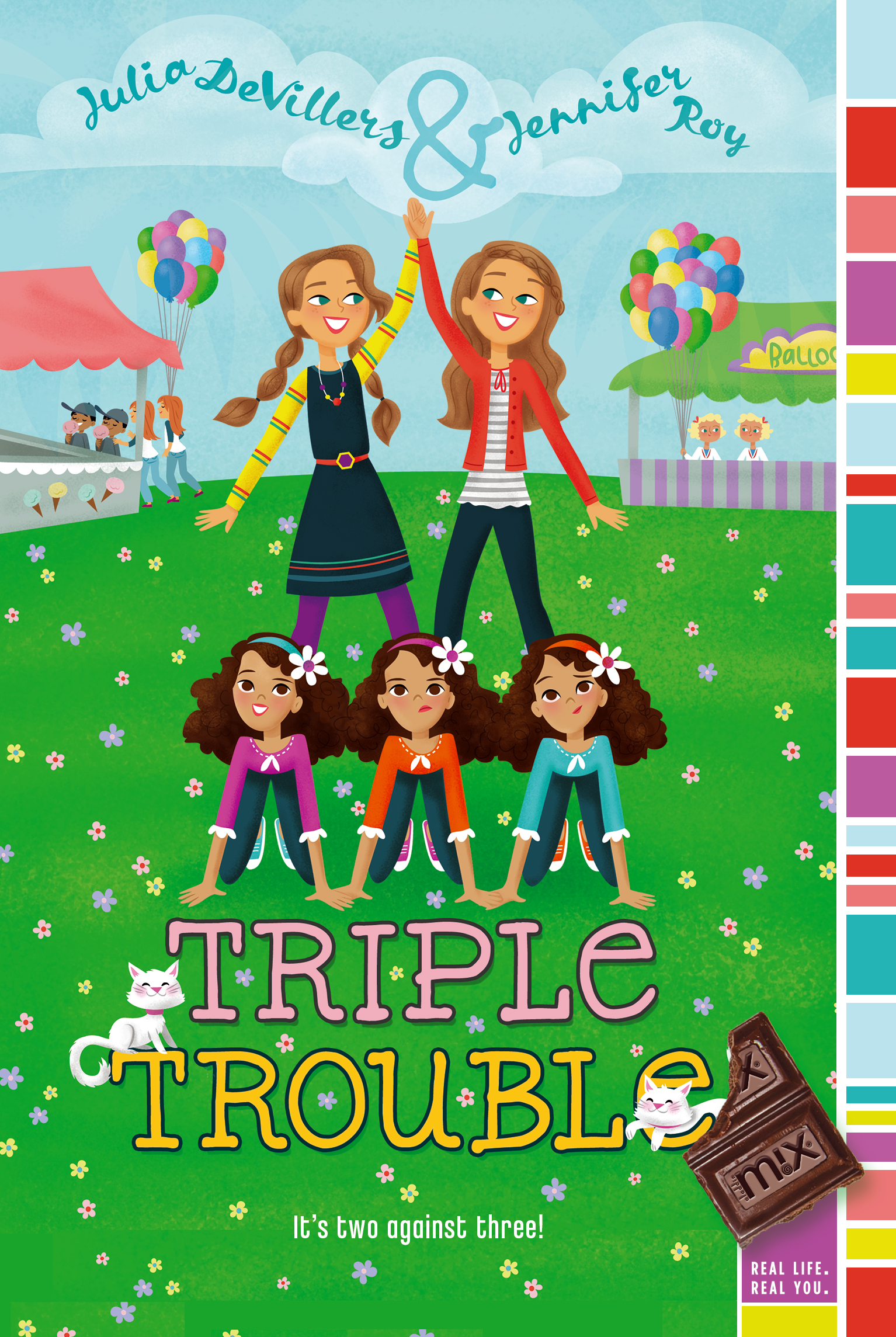 Triple trouble 9781442434066 hr