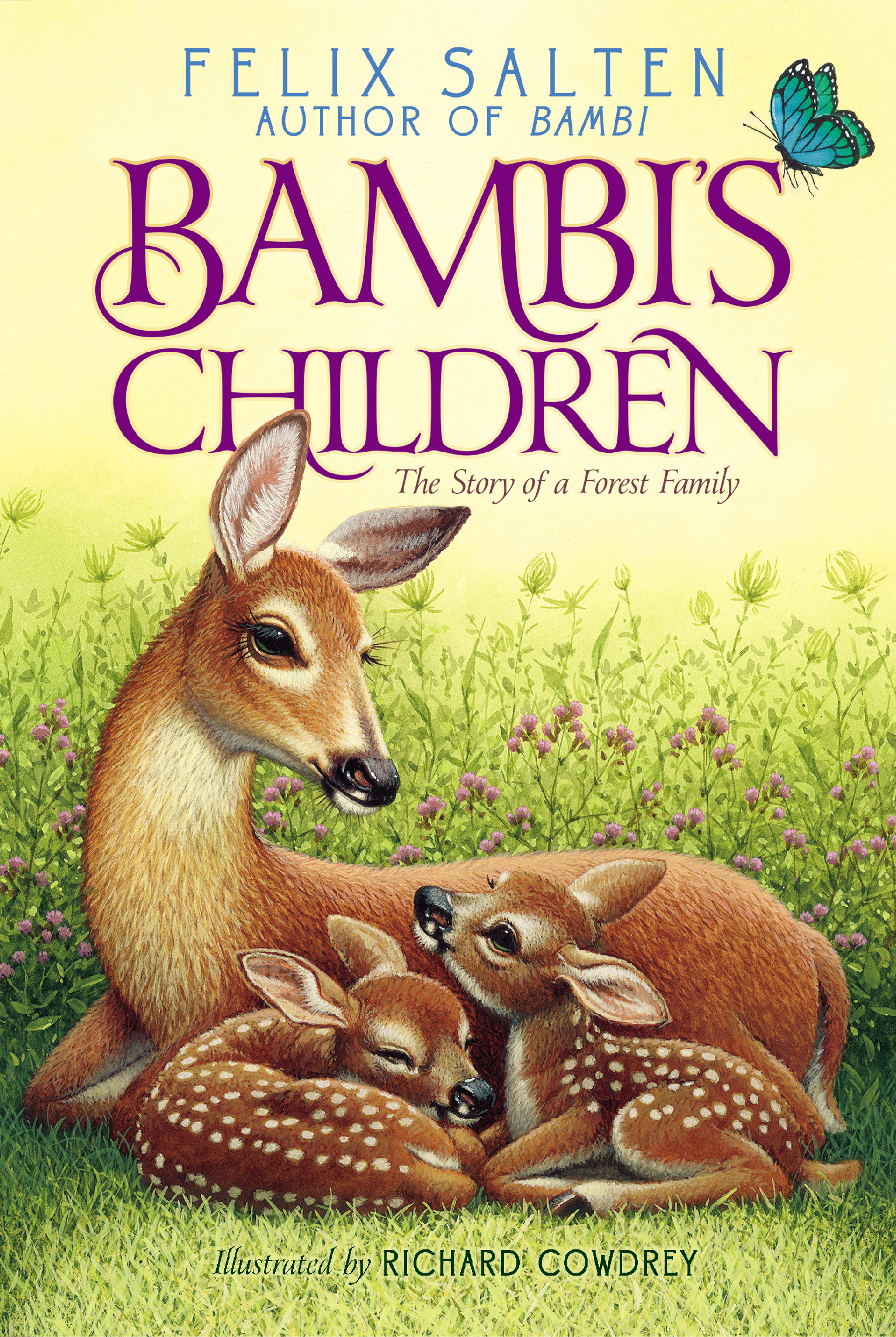 Bambis classic animal tales books by felix salten whittaker bambis children bambis children bambis children the hound of florence fandeluxe Ebook collections