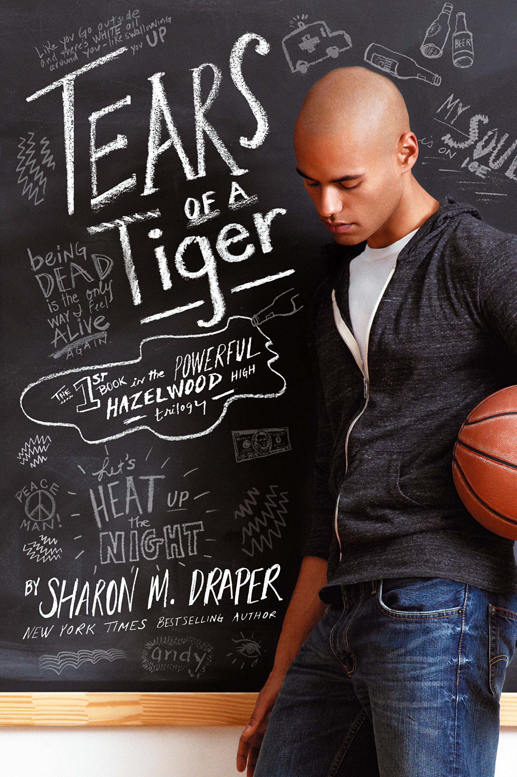 book talk tears of a tiger Tears of a tiger (book) : draper, sharon m : the death of high school basketball star rob washington in an automobile accident affects the lives of his close friend andy, who was driving the car, and many others in the school.