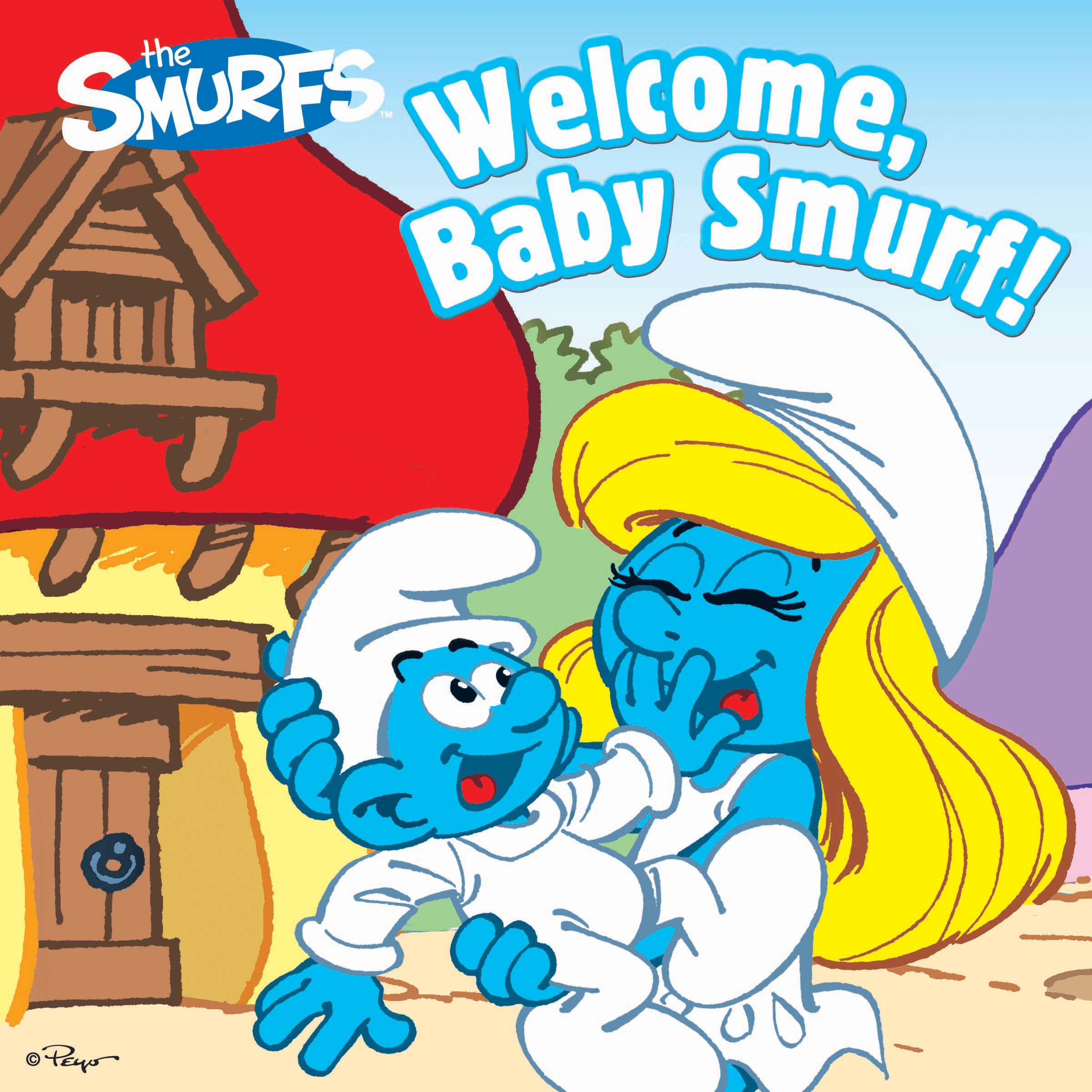 Welcome baby smurf! 9781442495425 hr