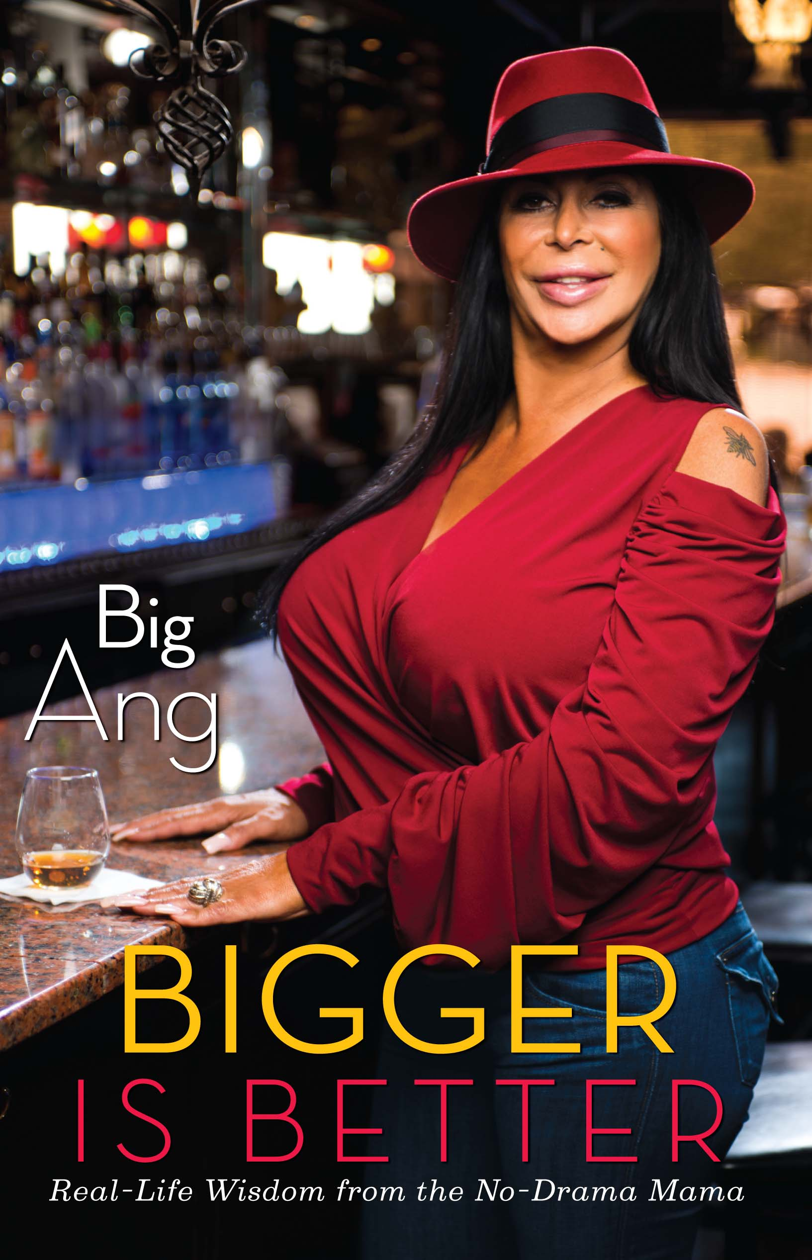 Bigger is better book by big ang official publisher page 9781451699616 hr fandeluxe Epub
