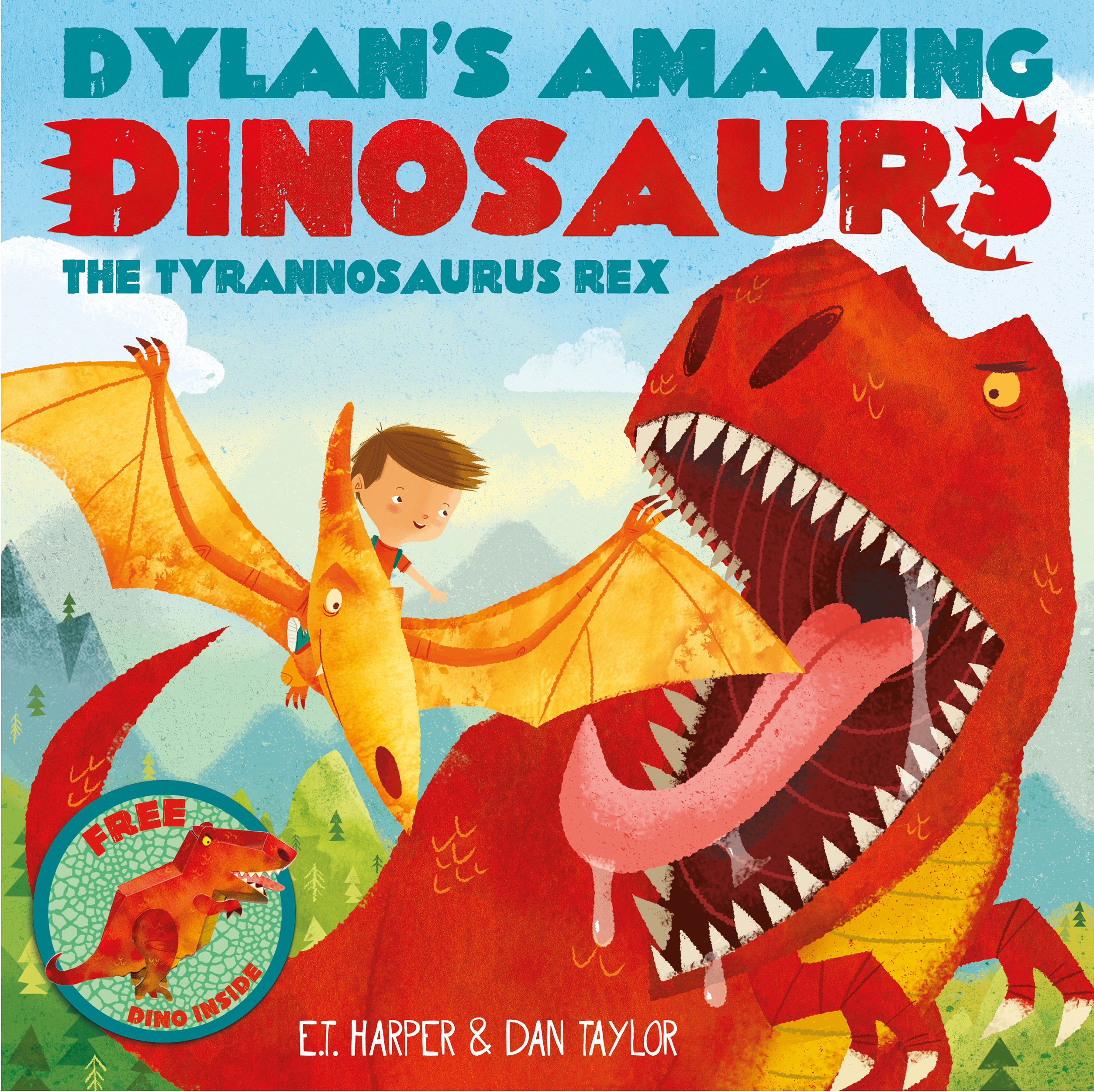 Dylans amazing dinosaurs the tyrannosaurus rex 9781471119347 hr