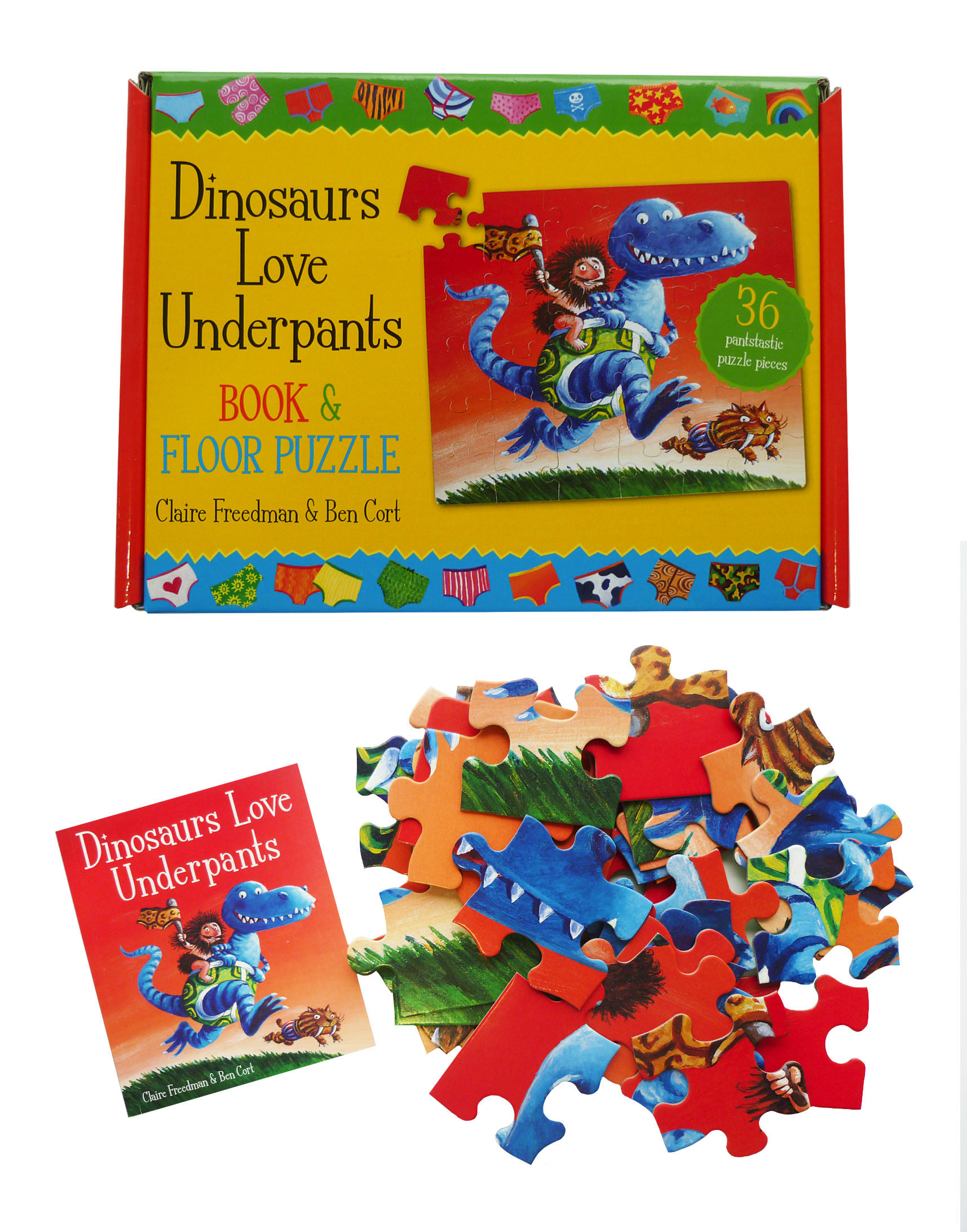 Claire freedman official publisher page simon schuster canada book cover image jpg dinosaurs love underpants book and jigsaw fandeluxe Image collections