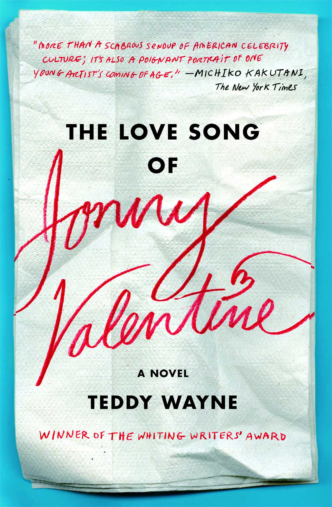 Love-song-of-jonny-valentine-9781476705866_hr