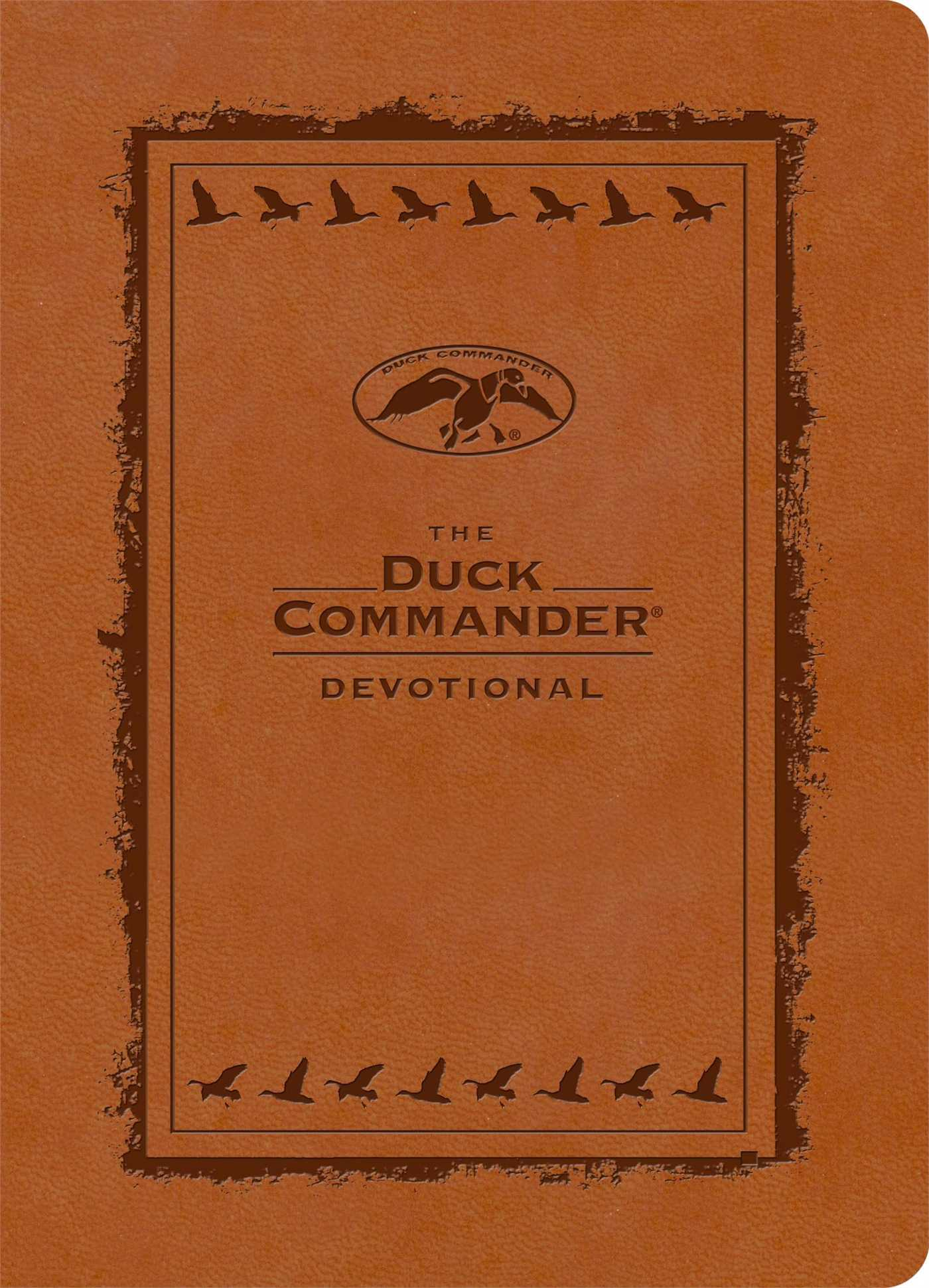 Duck commander devotional leathertouch edition 9781476745541 hr