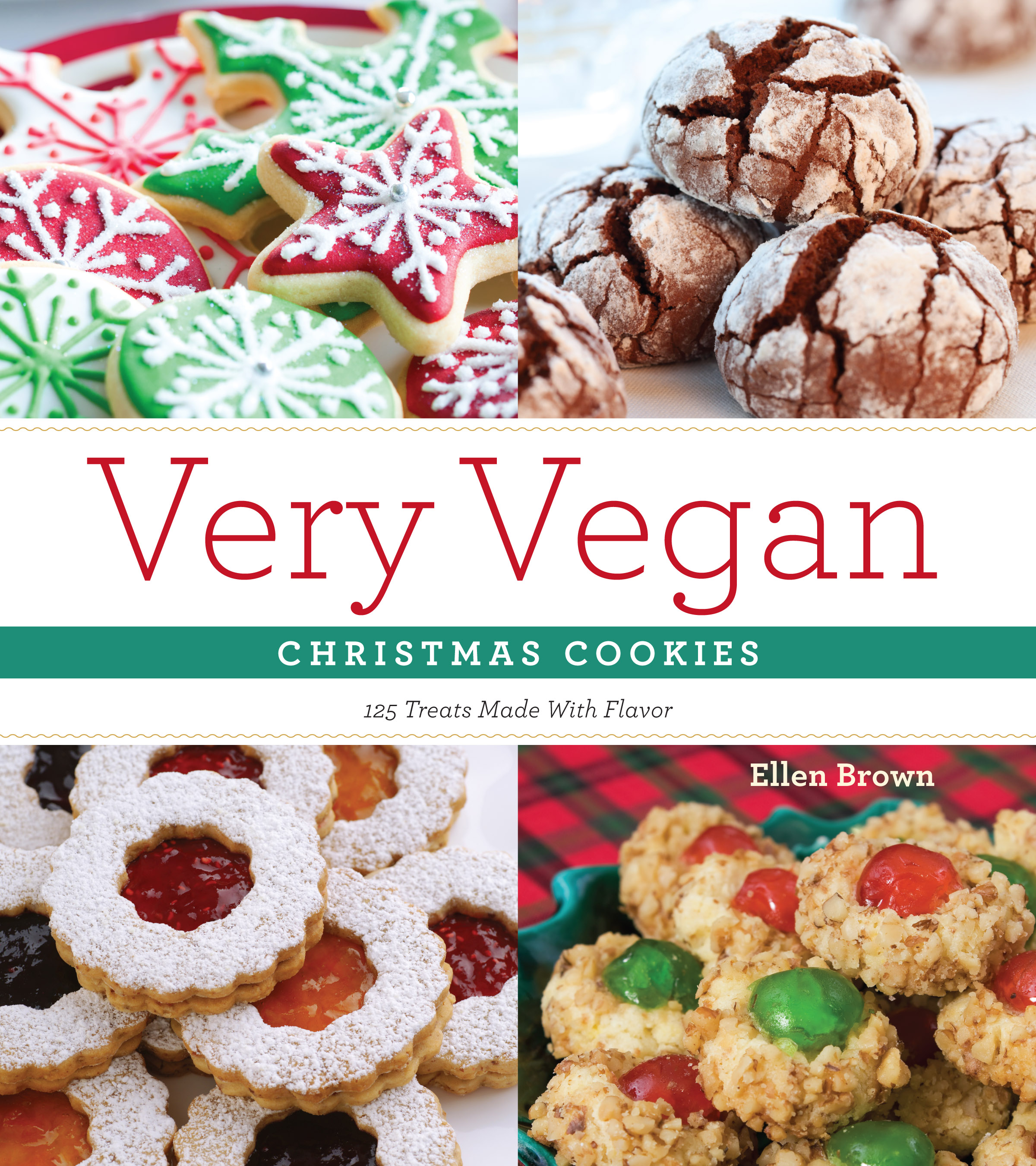 Very Vegan Christmas Cookies 9781604332919 Hr