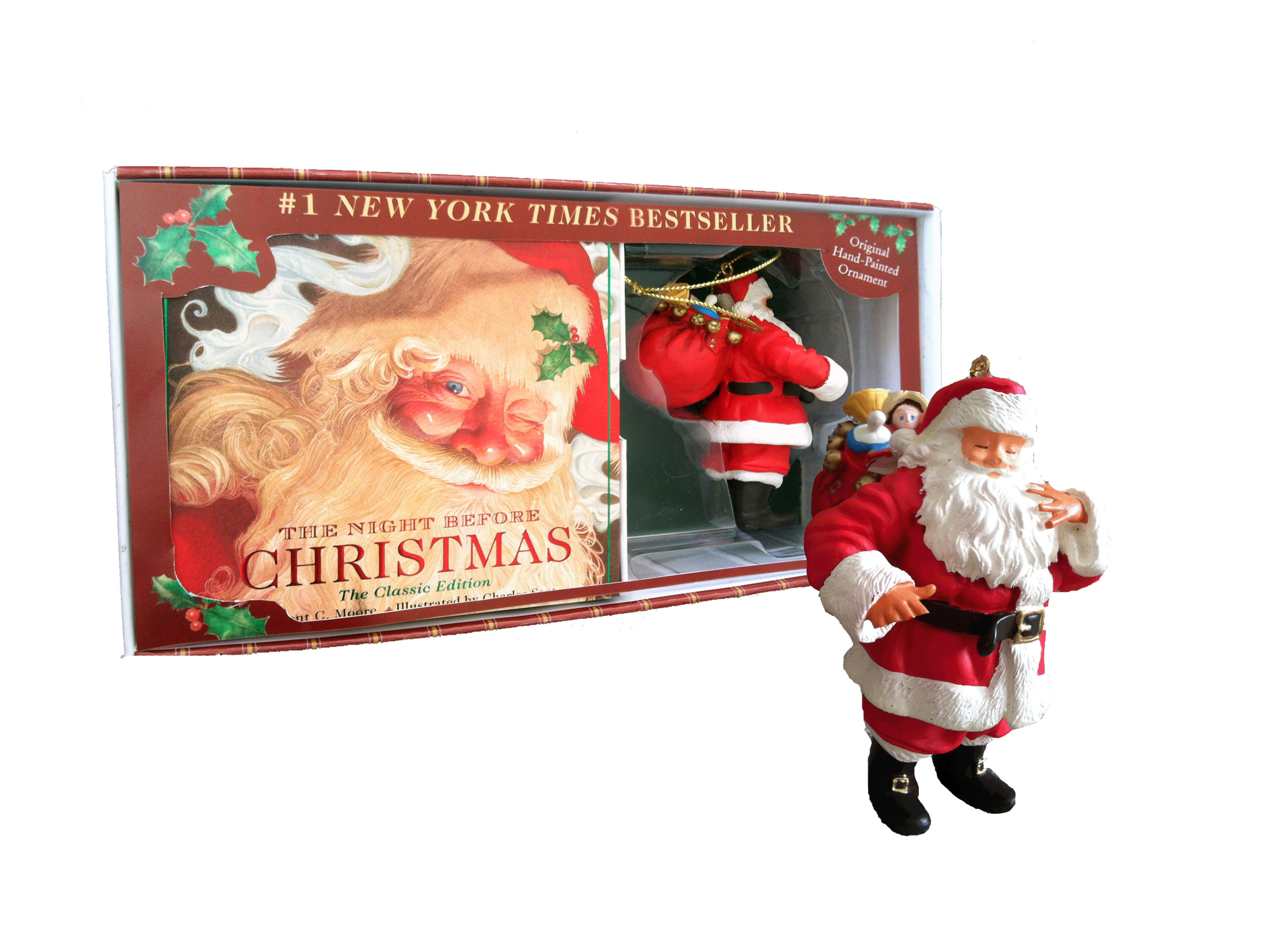 Night before christmas keepsake gift set 9781604334371 hr
